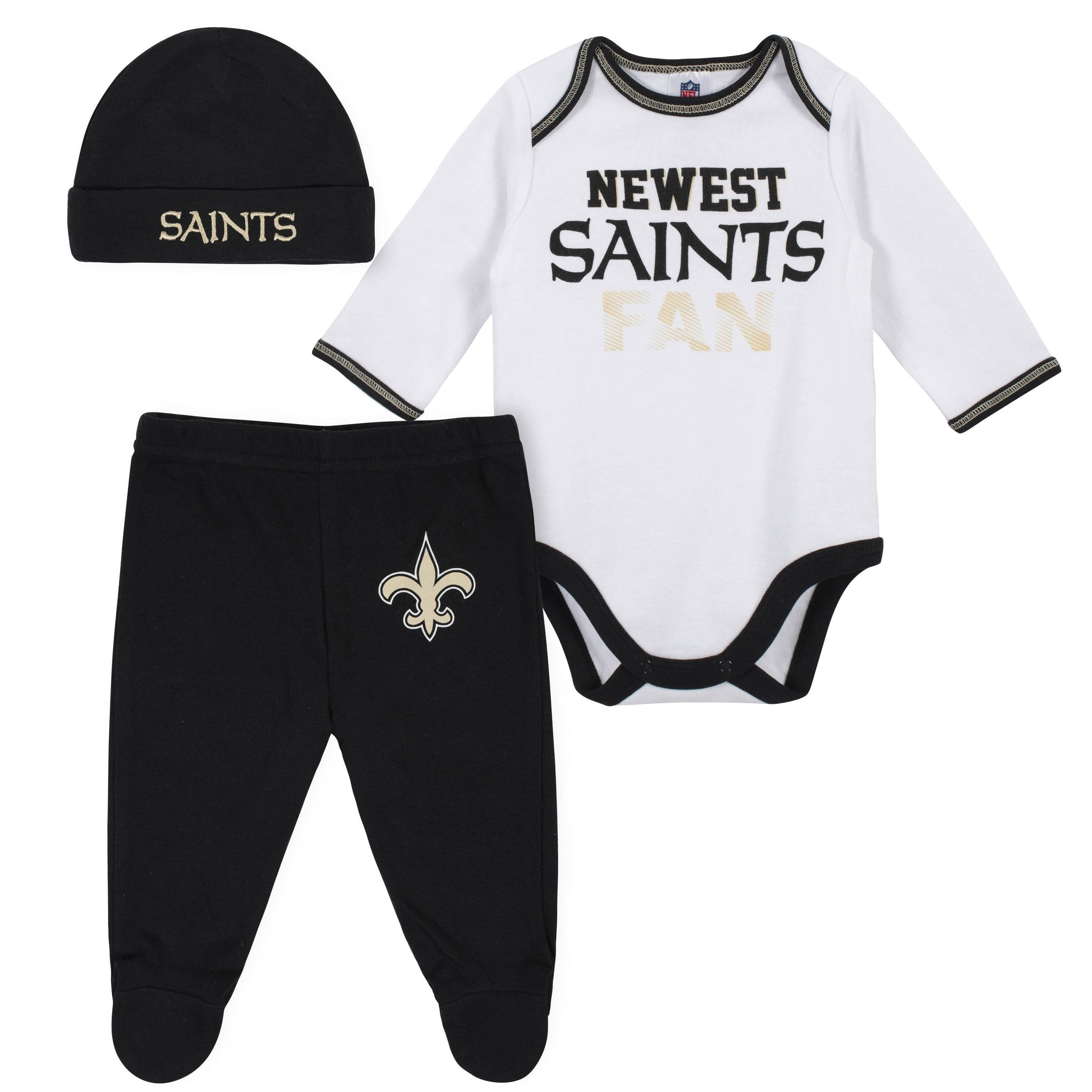 quality design 25e5f a6e11 New Orleans Saints Baby Clothing | Gerber Childrenswear