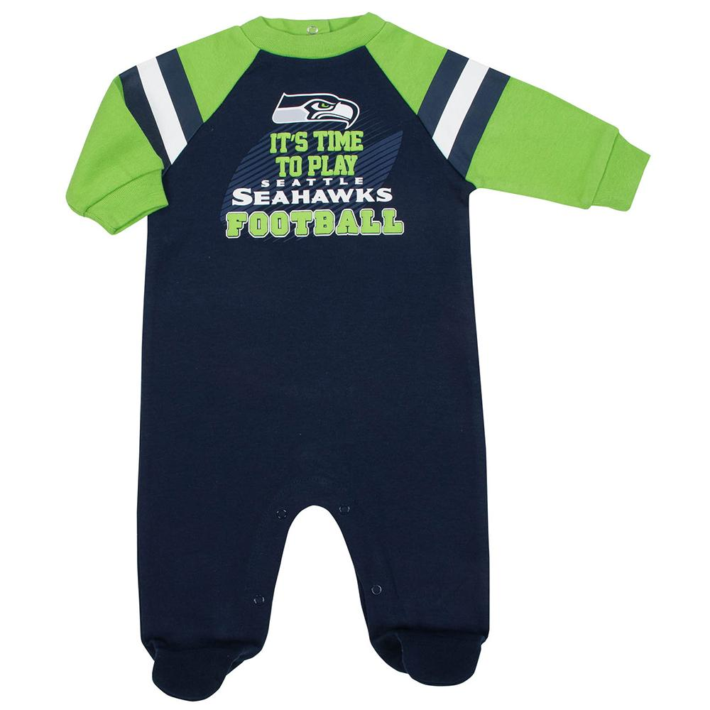 Seattle Seahawks Baby Boys Sleep N' Play-Gerber Childrenswear