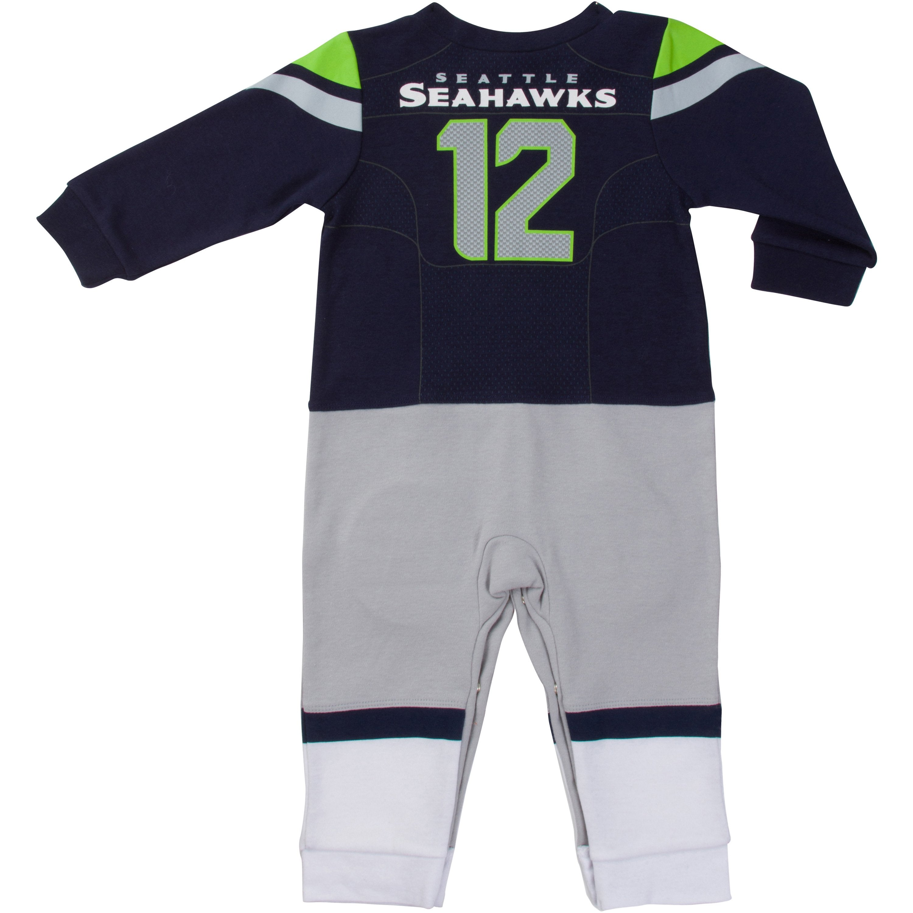 the best attitude af340 70eb6 Seattle Seahawks Baby Boys Footysuit