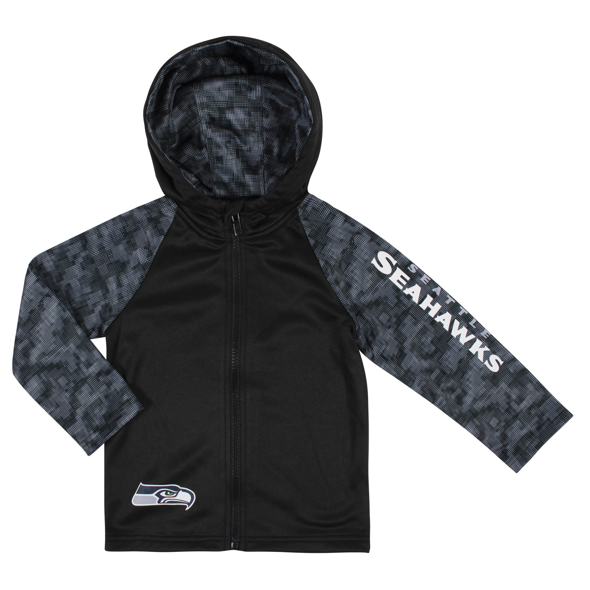 Toddler Boys Seattle Seahawks Hooded Jacket-Gerber Childrenswear