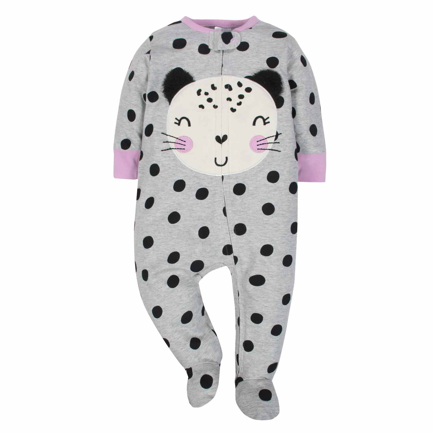 Gerber® 3-Pack Girls Cat Sleep N' Play - Limited Edition