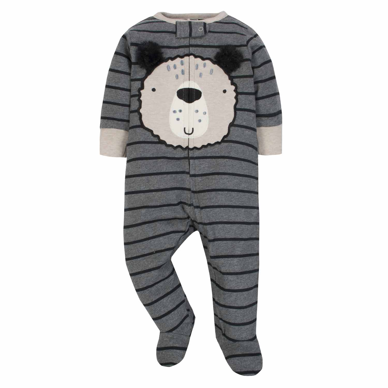 3-Pack Boys Bear Sleep N' Play - Limited Edition