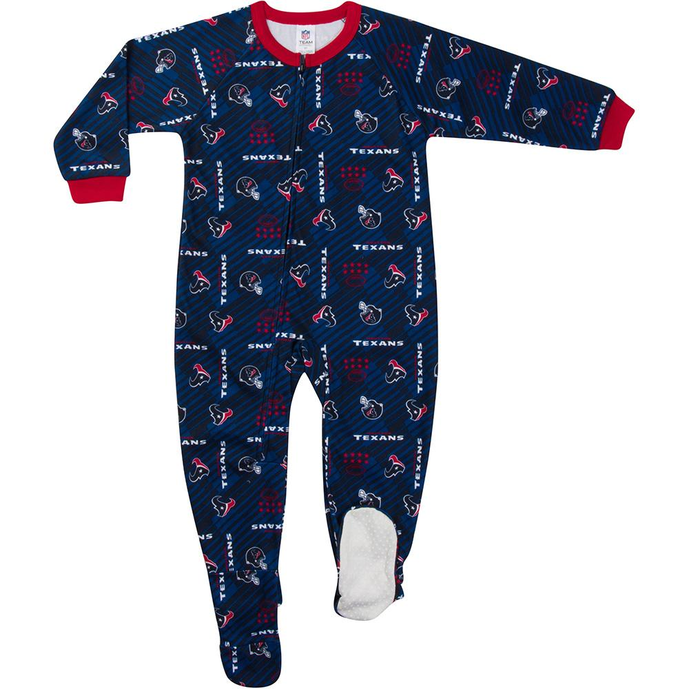 Texans Toddler Blanket Sleeper-Gerber Childrenswear