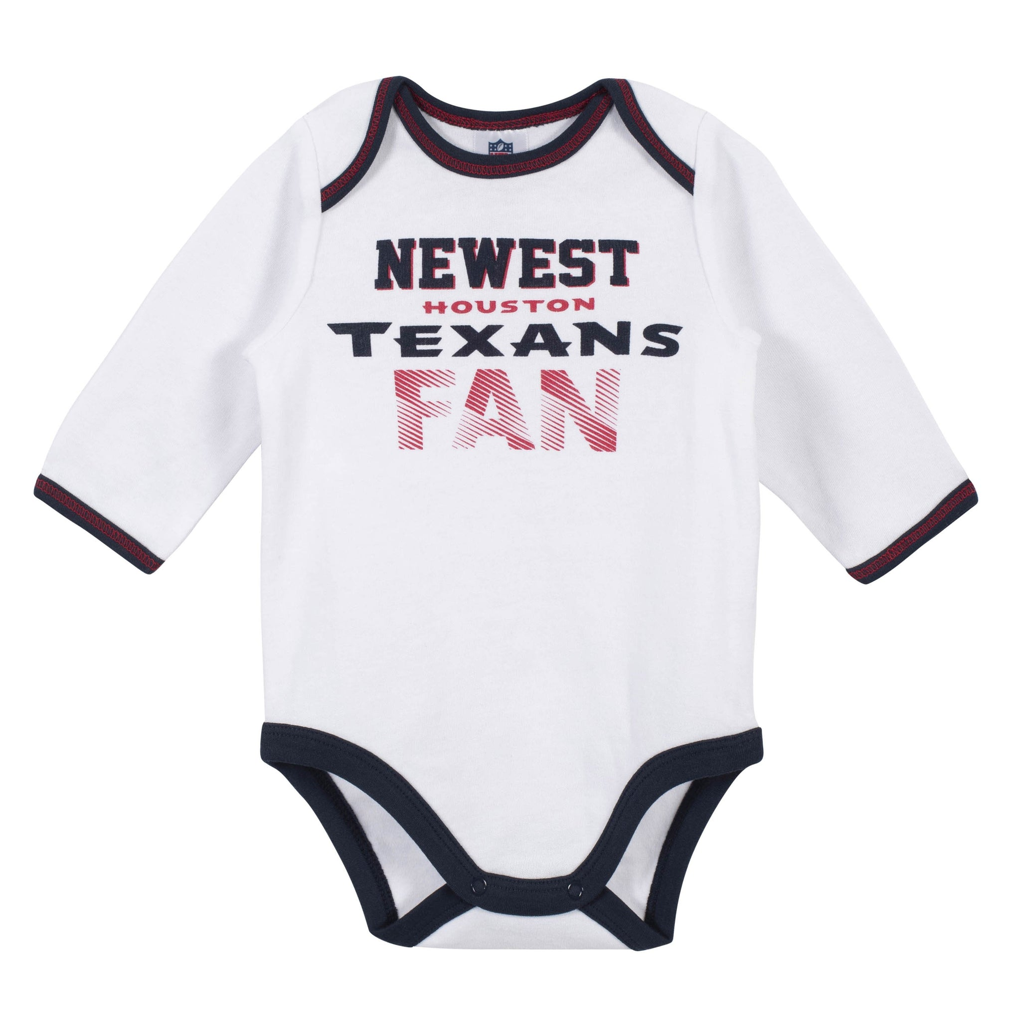 Baby Boys Houston Texans 3-Piece Bodysuit, Pant and Cap Set-Gerber Childrenswear