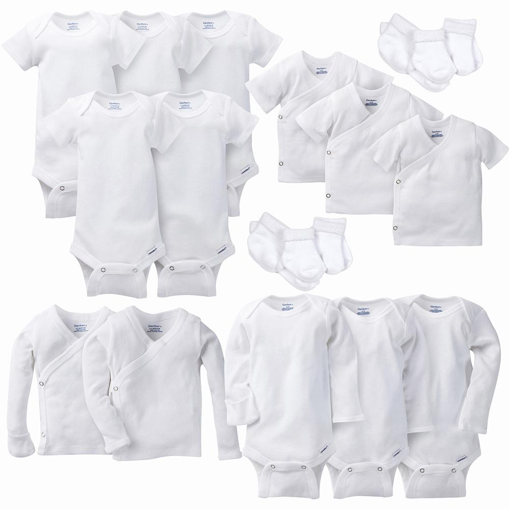 19-Piece White Layette Gift Set