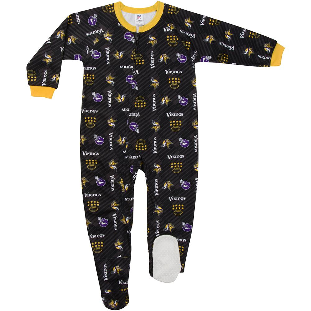 Vikings Toddler Blanket Sleeper-Gerber Childrenswear
