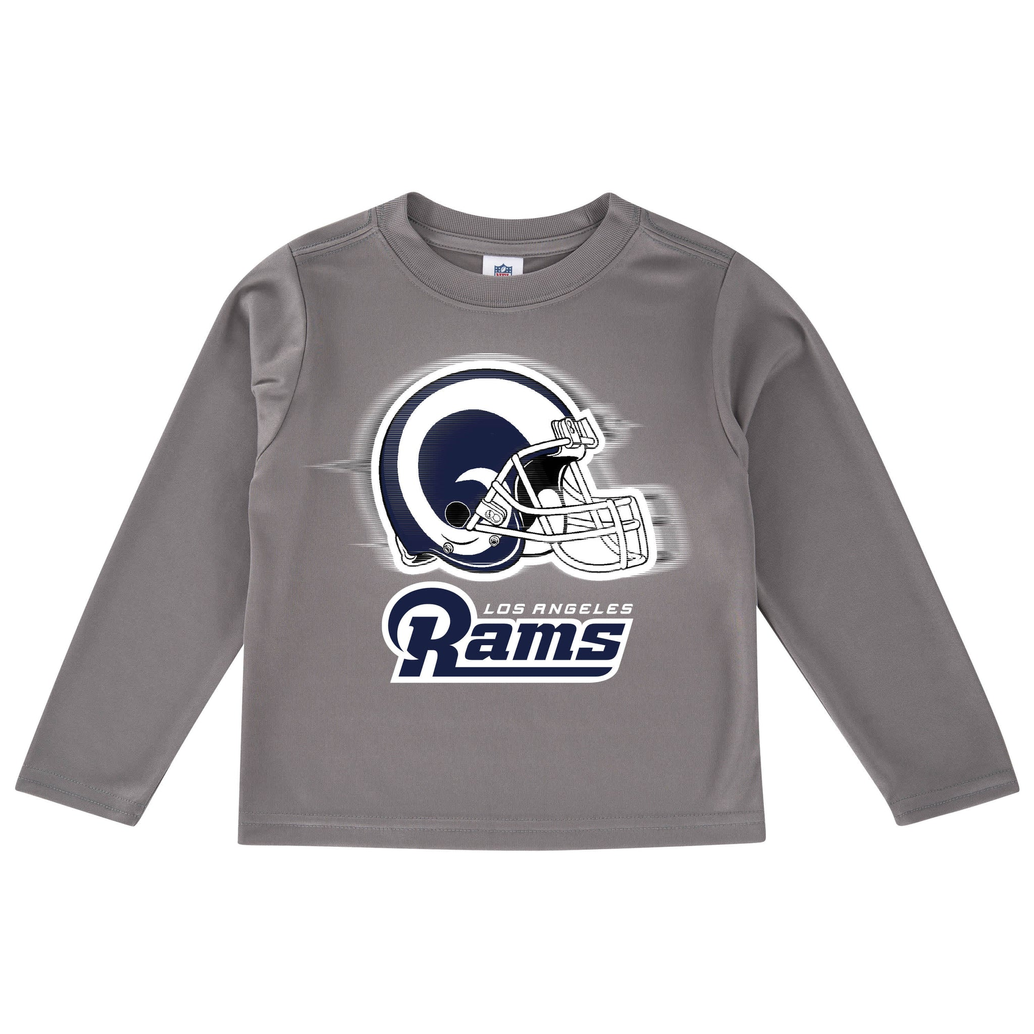 Los Angeles Rams Long Sleeve Logo Tee Shirt-Gerber Childrenswear
