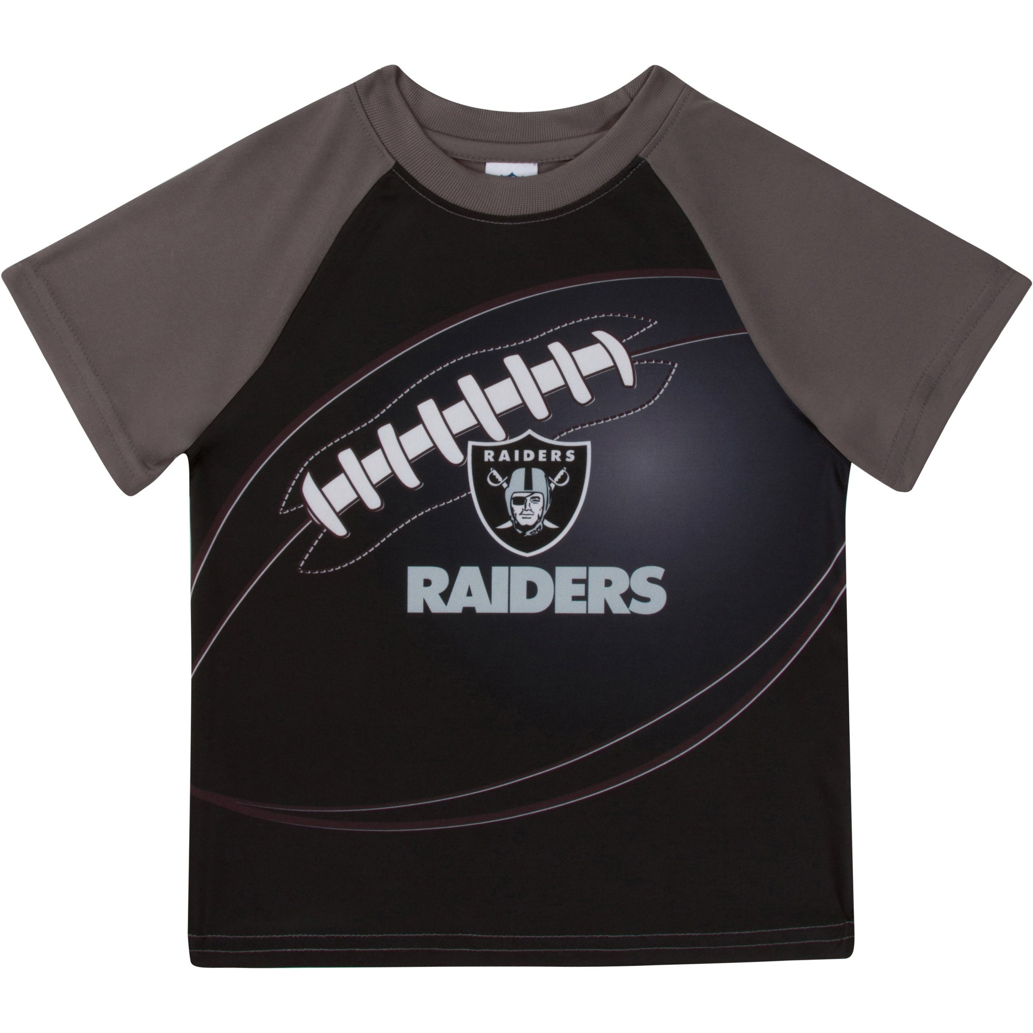 Las Vegas Raiders Boys Short Sleeve Tee Shirt-Gerber Childrenswear