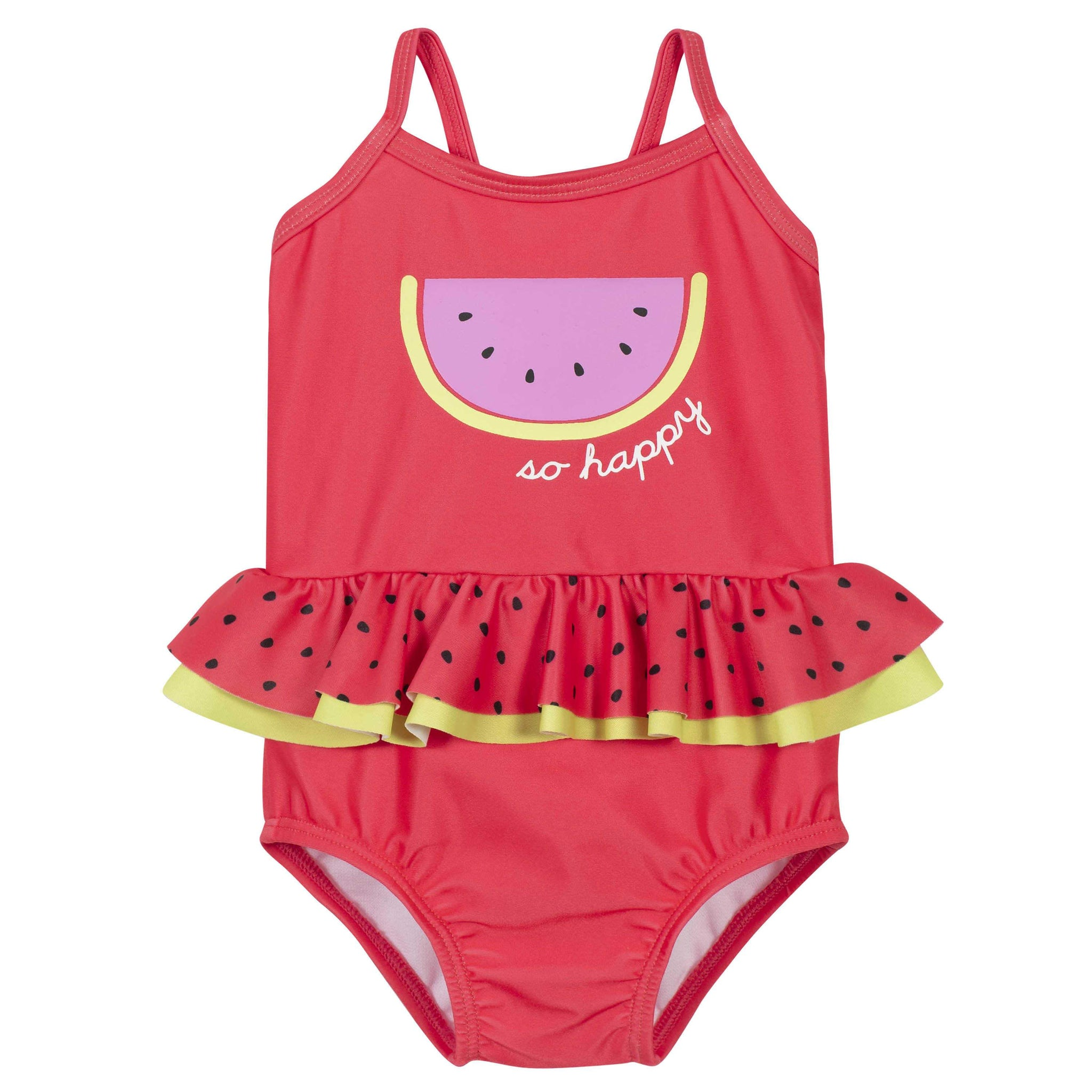 Gerber® One-piece Baby Girls Watermelon Swimsuit