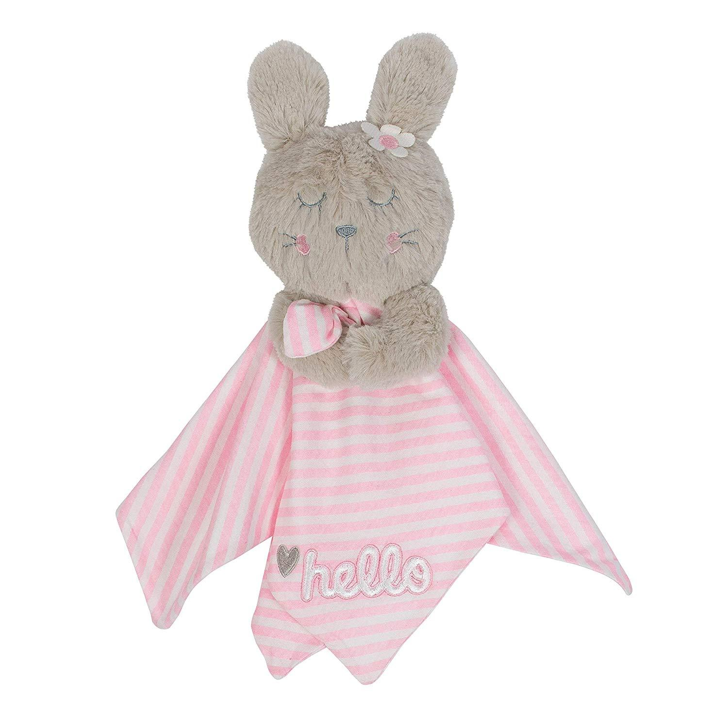 1-Pack Girls Bunny Organic Security Blanket