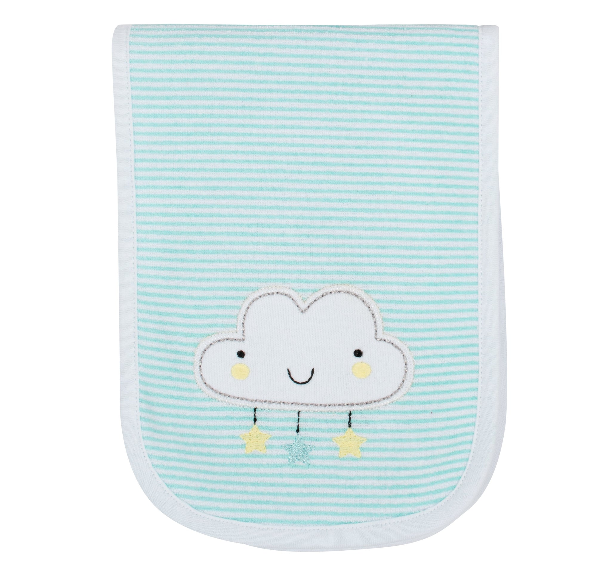 3-Pack Neutral Clouds Burp Cloths