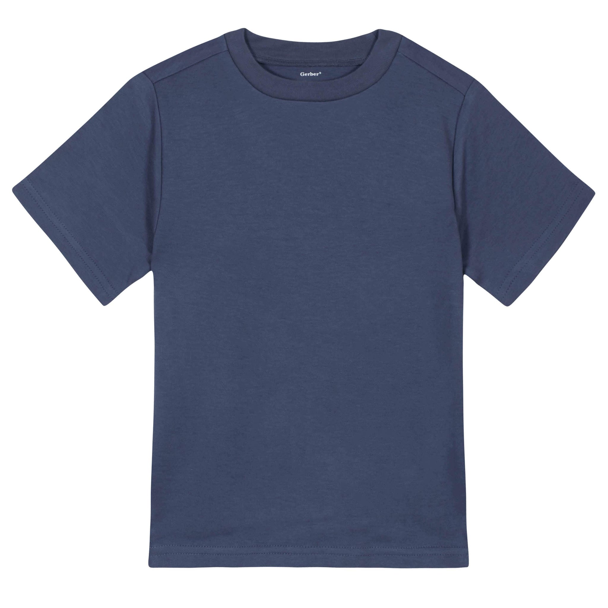 Gerber® Premium Navy Short Sleeve Tee Shirt - 10 Colors Available