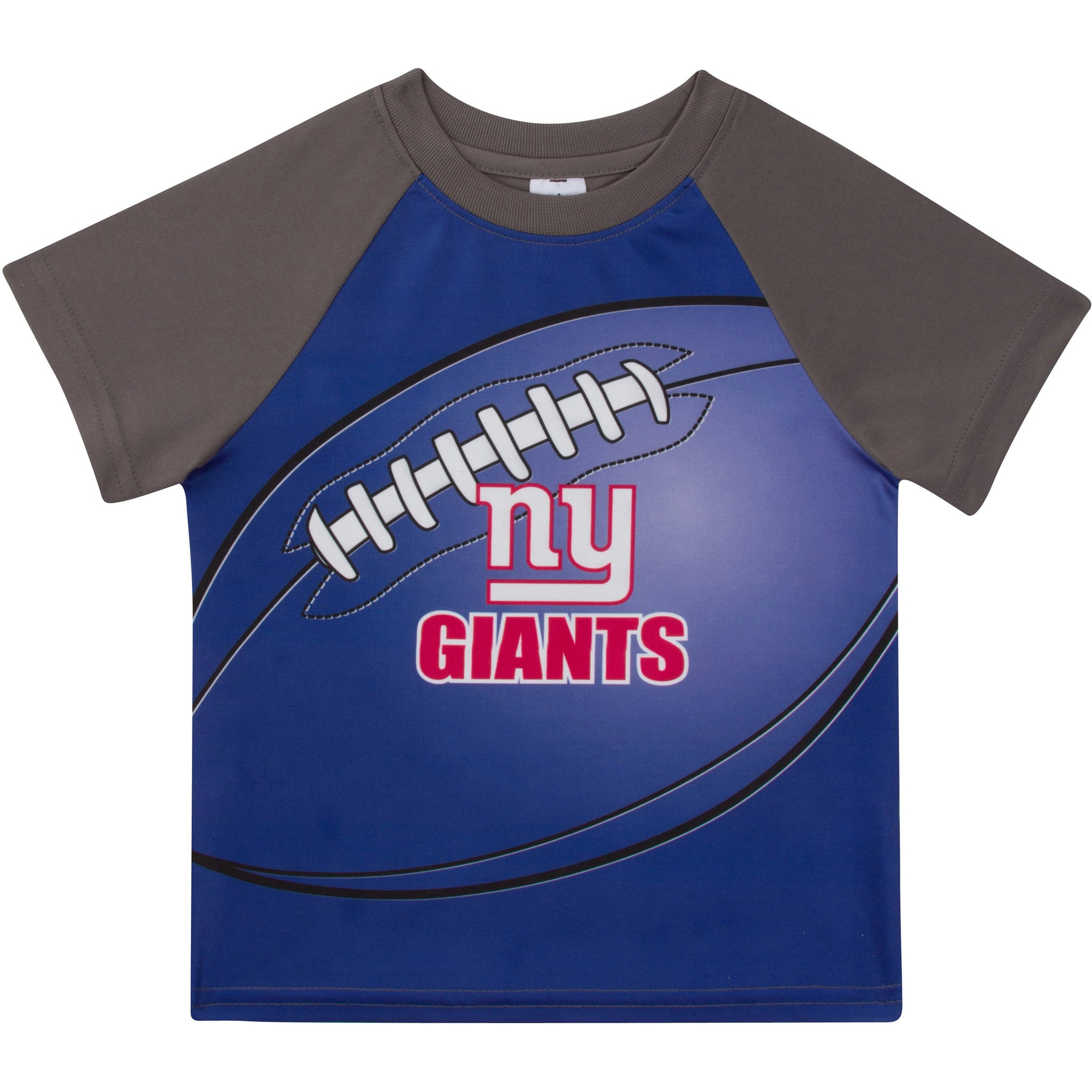 New York Giants Boys Short Sleeve Tee Shirt-Gerber Childrenswear