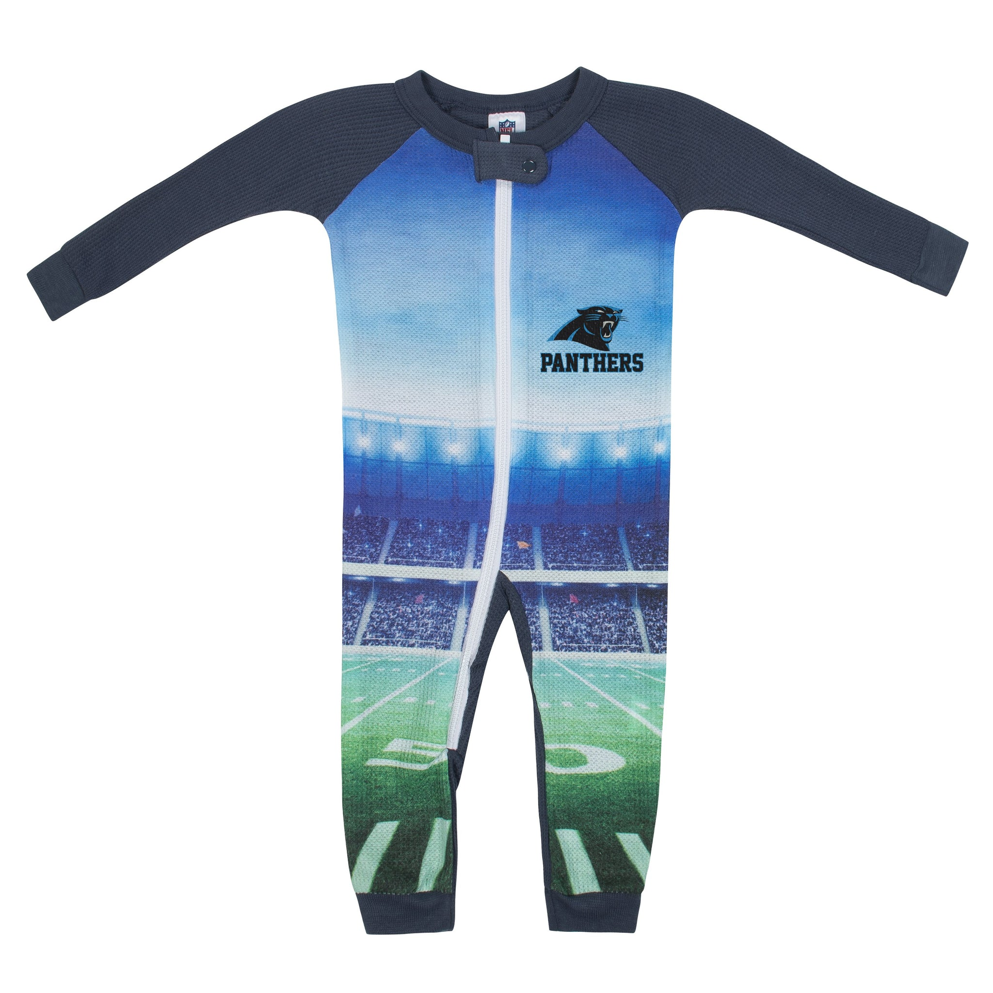 Carolina Panthers Boys Union Suit-Gerber Childrenswear