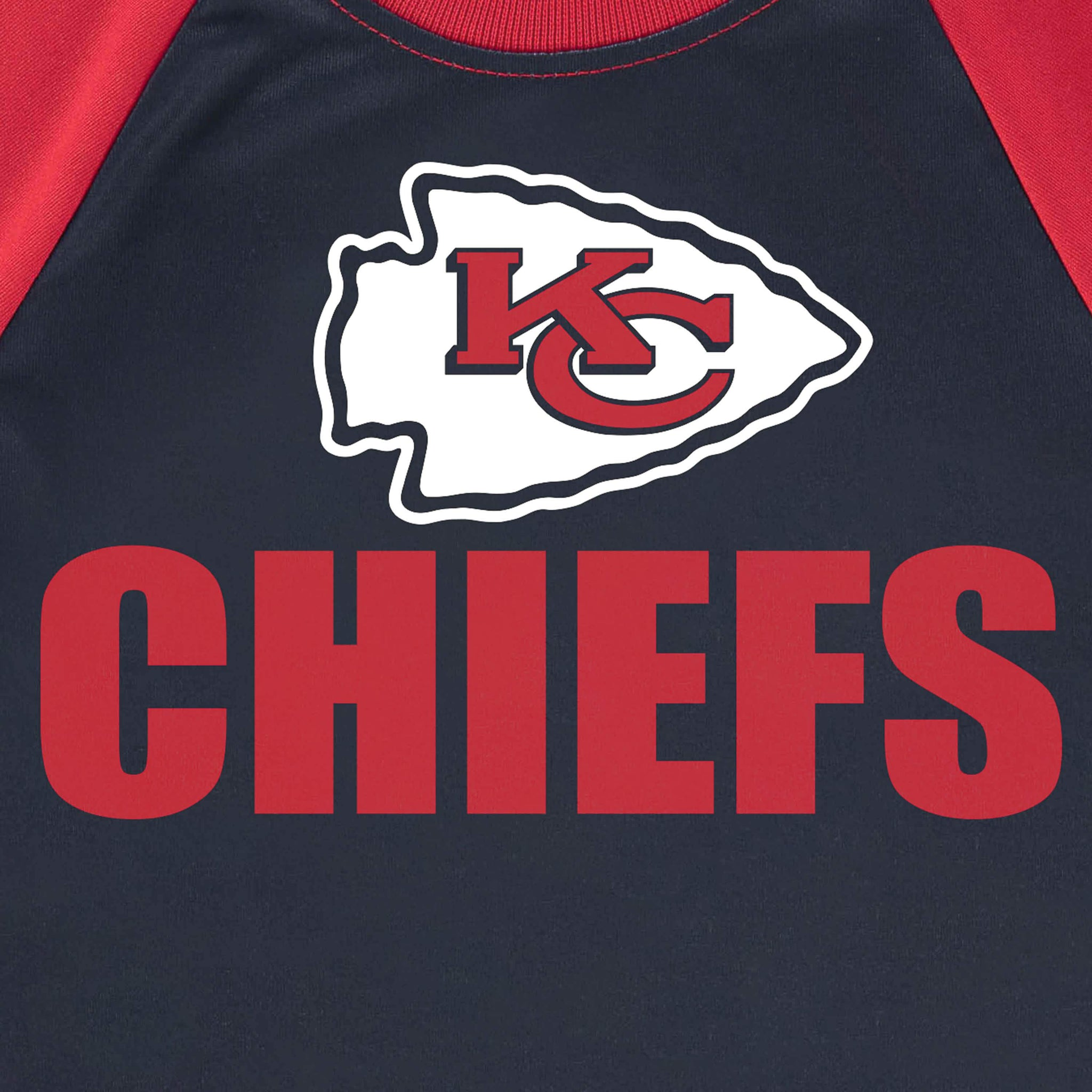 Kansas City Chiefs Boys Short Sleeve Tee Shirt