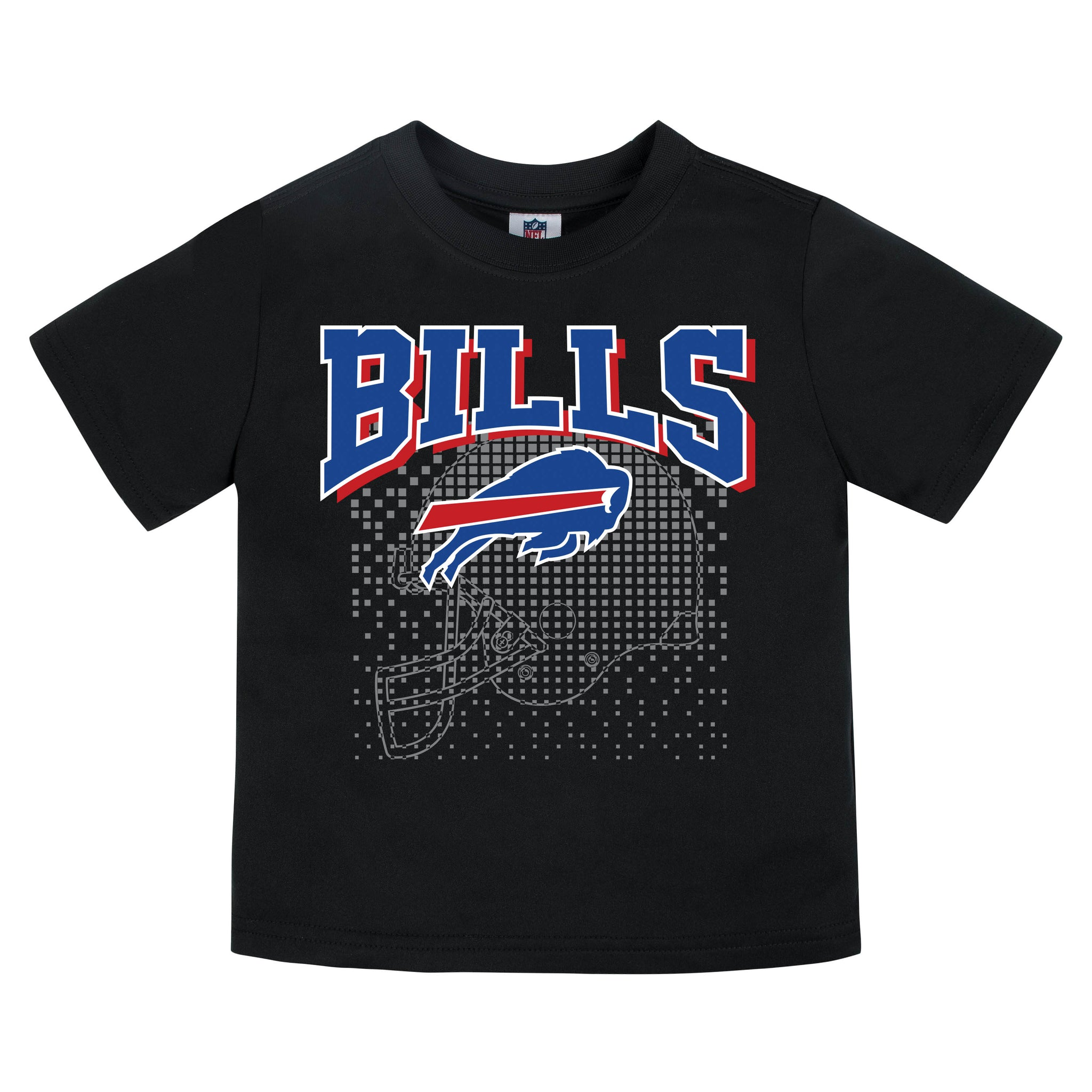 Buffalo Bills Boys Short Sleeve Tee Shirt-Gerber Childrenswear