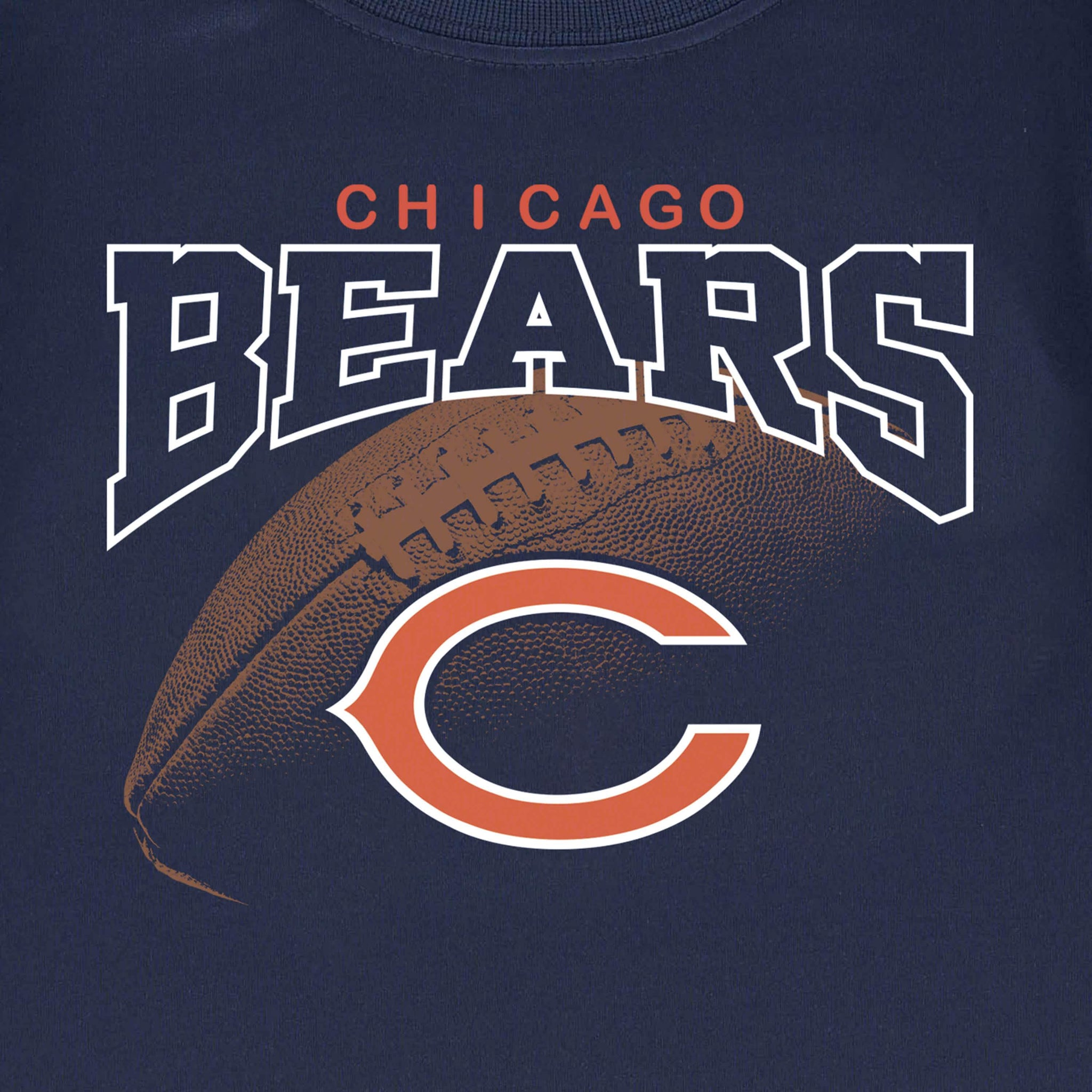 Chicago Bears Toddler Boys Tee Shirt-Gerber Childrenswear