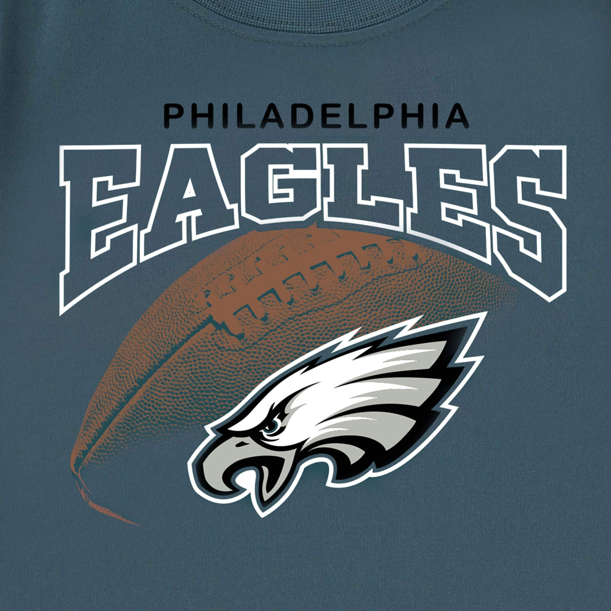 Philidelphia Eagles Toddler Boys Tee Shirt-Gerber Childrenswear