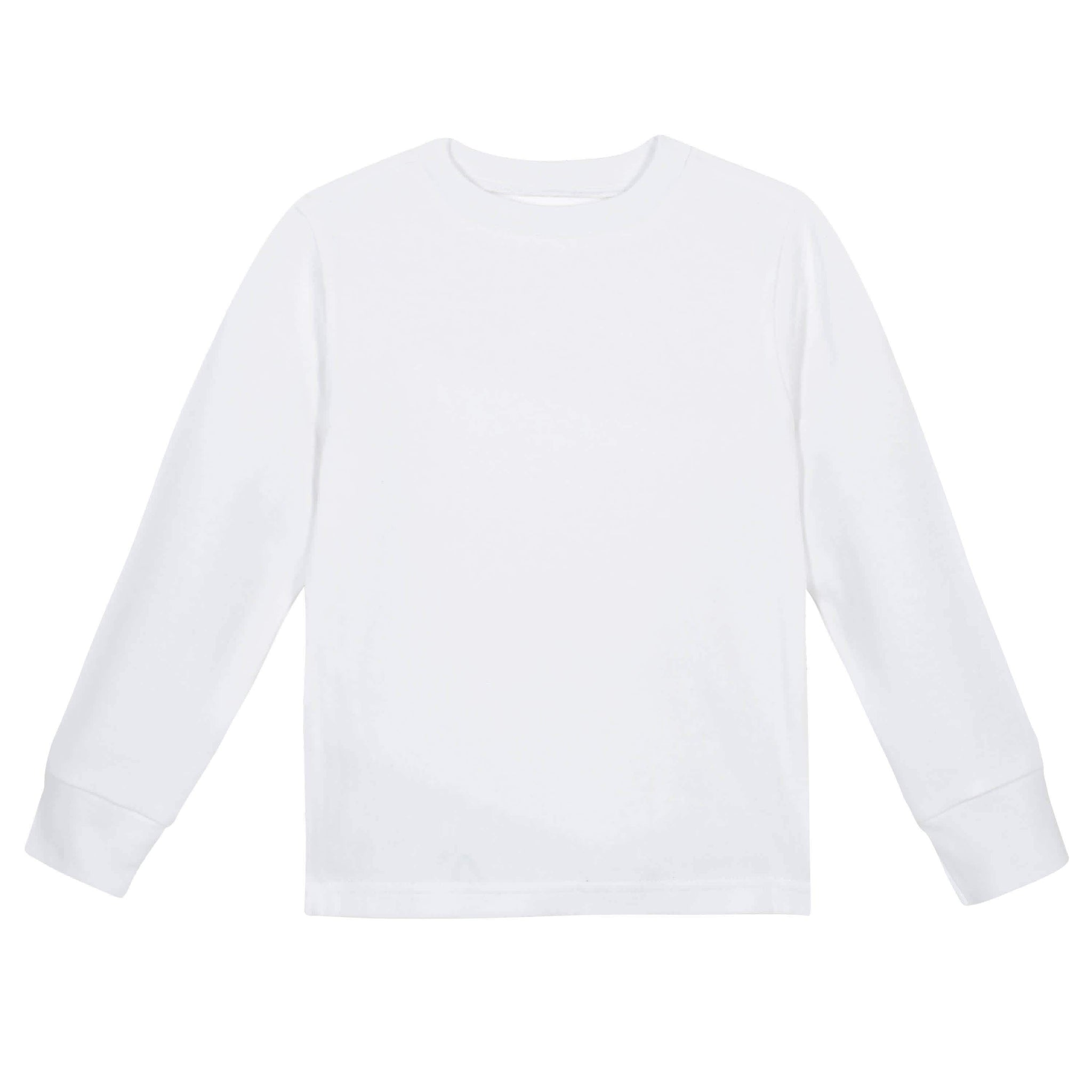 Gerber® Premium White Long Sleeve Tee Shirt - 10 Colors Available