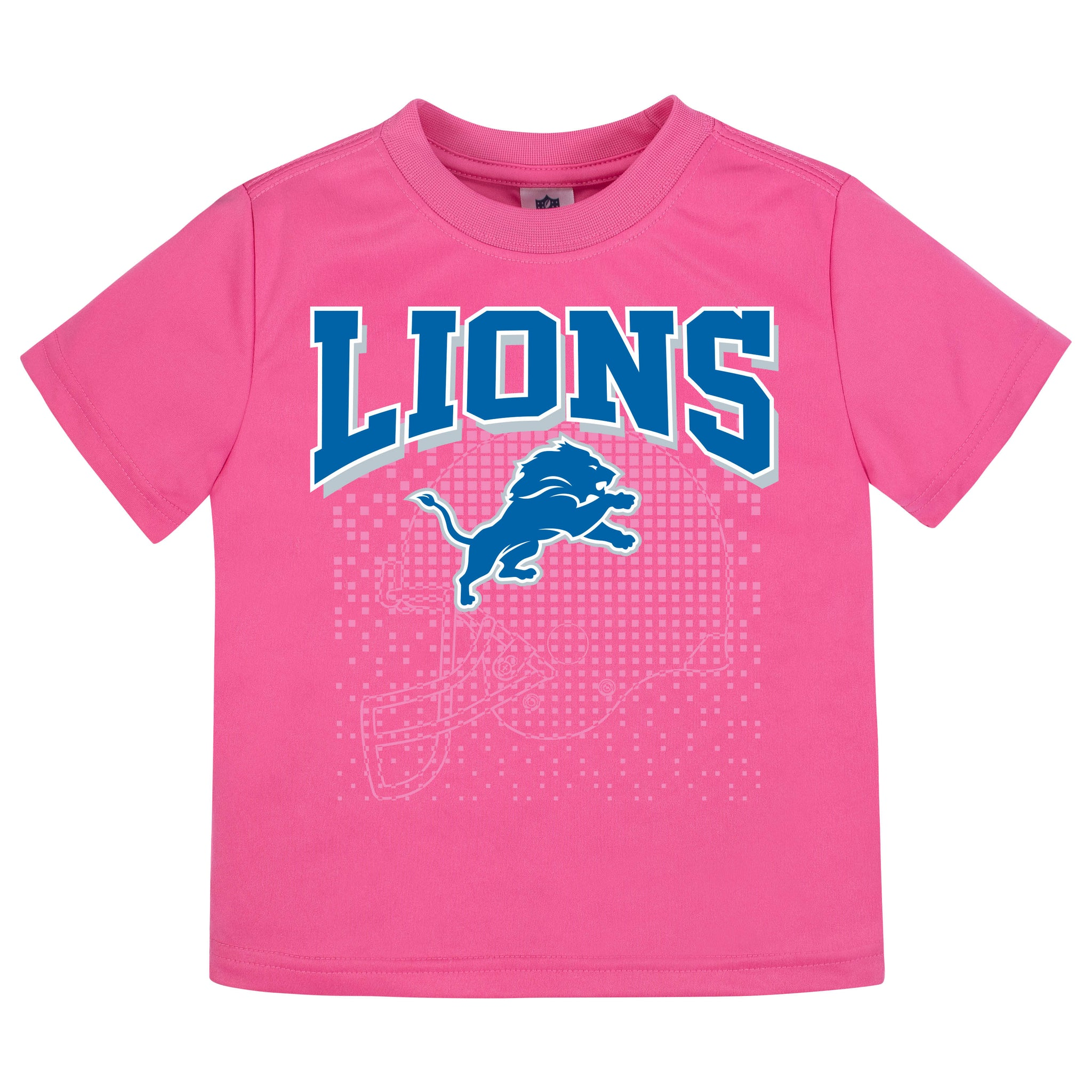 Detroit Lions Girls Short Sleeve Tee Shirt