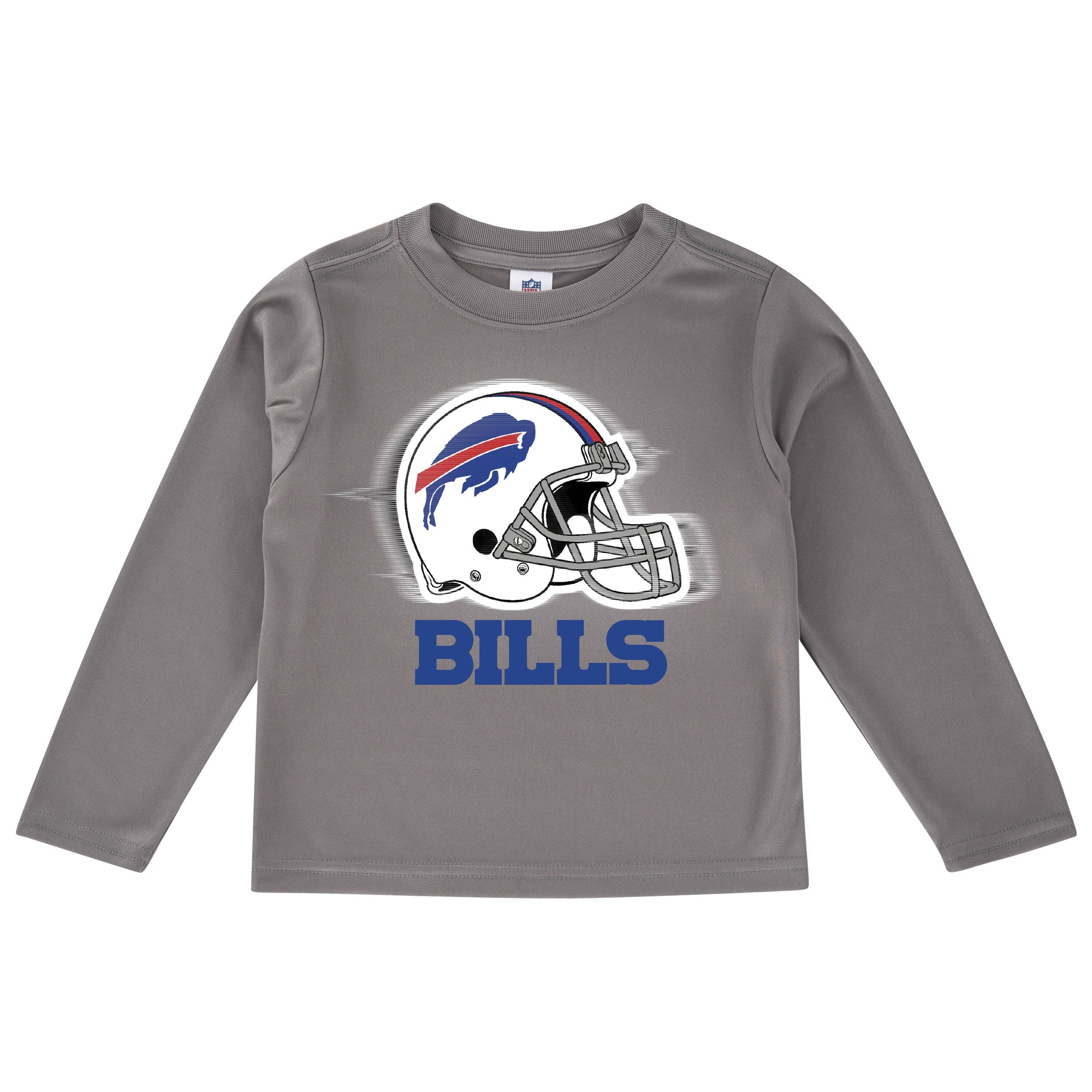 Buffalo Bills Toddler Boys' Long Sleeve Logo Tee-Gerber Childrenswear