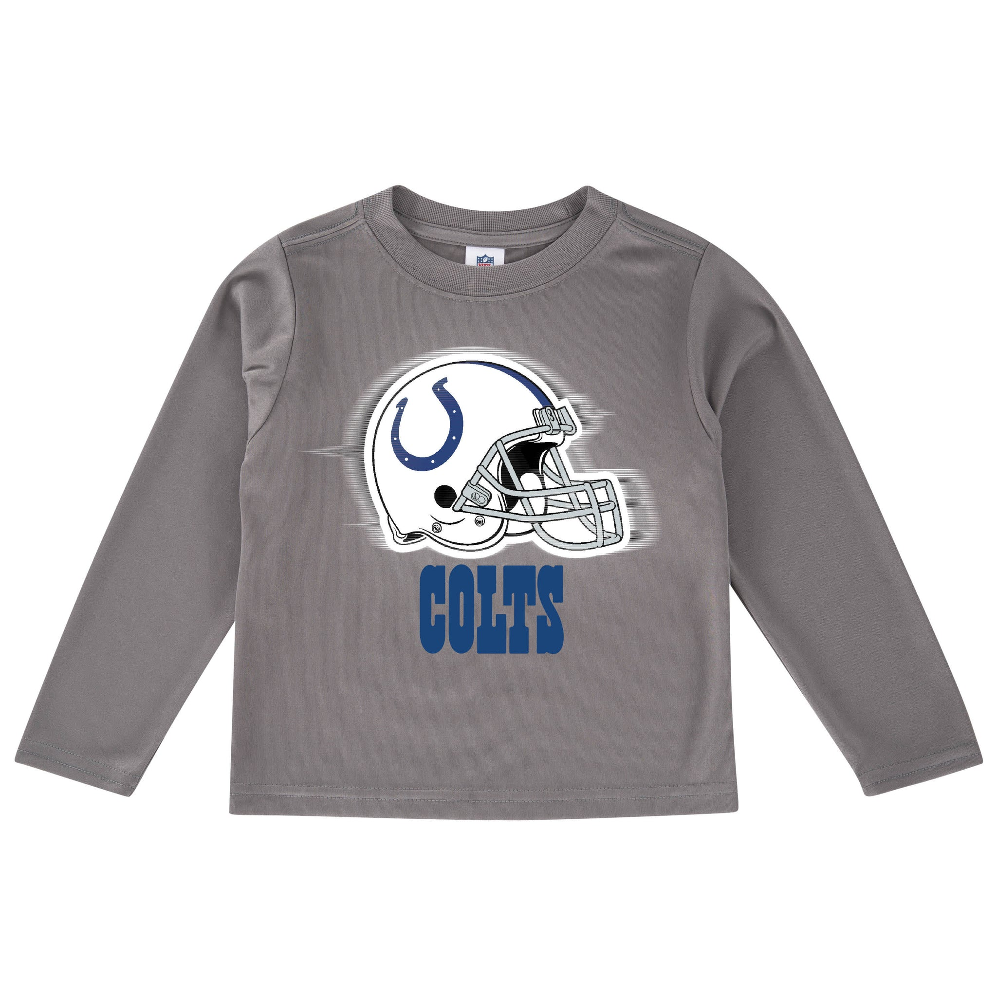 Indianapolis Colts Long Sleeve Logo Tee Shirt-Gerber Childrenswear