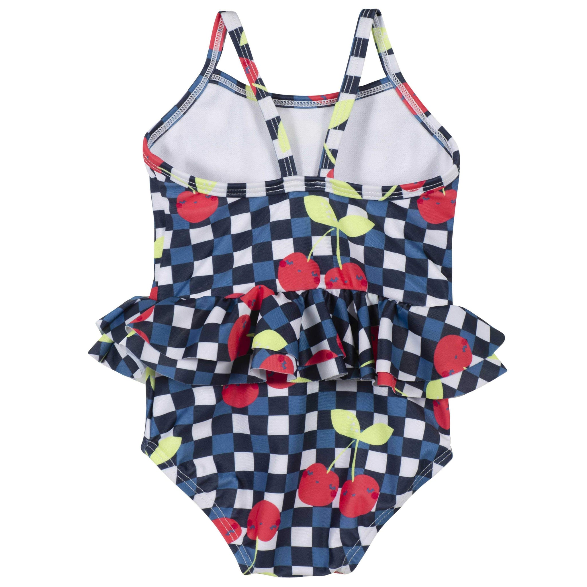 One-piece Baby Girls Cherry Swimsuit
