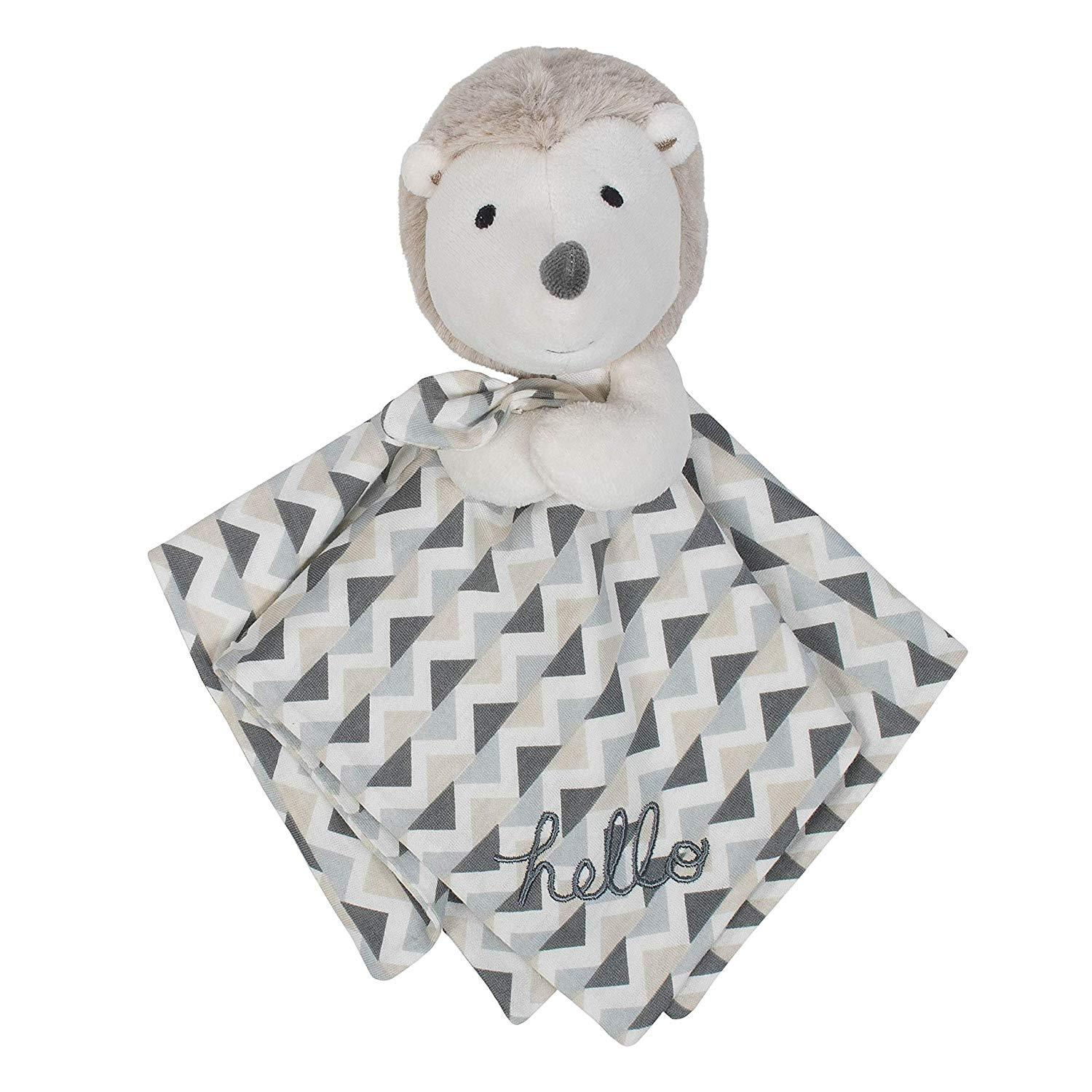 1-Pack Neutral Hedgehog Organic Security Blanket-Gerber Childrenswear