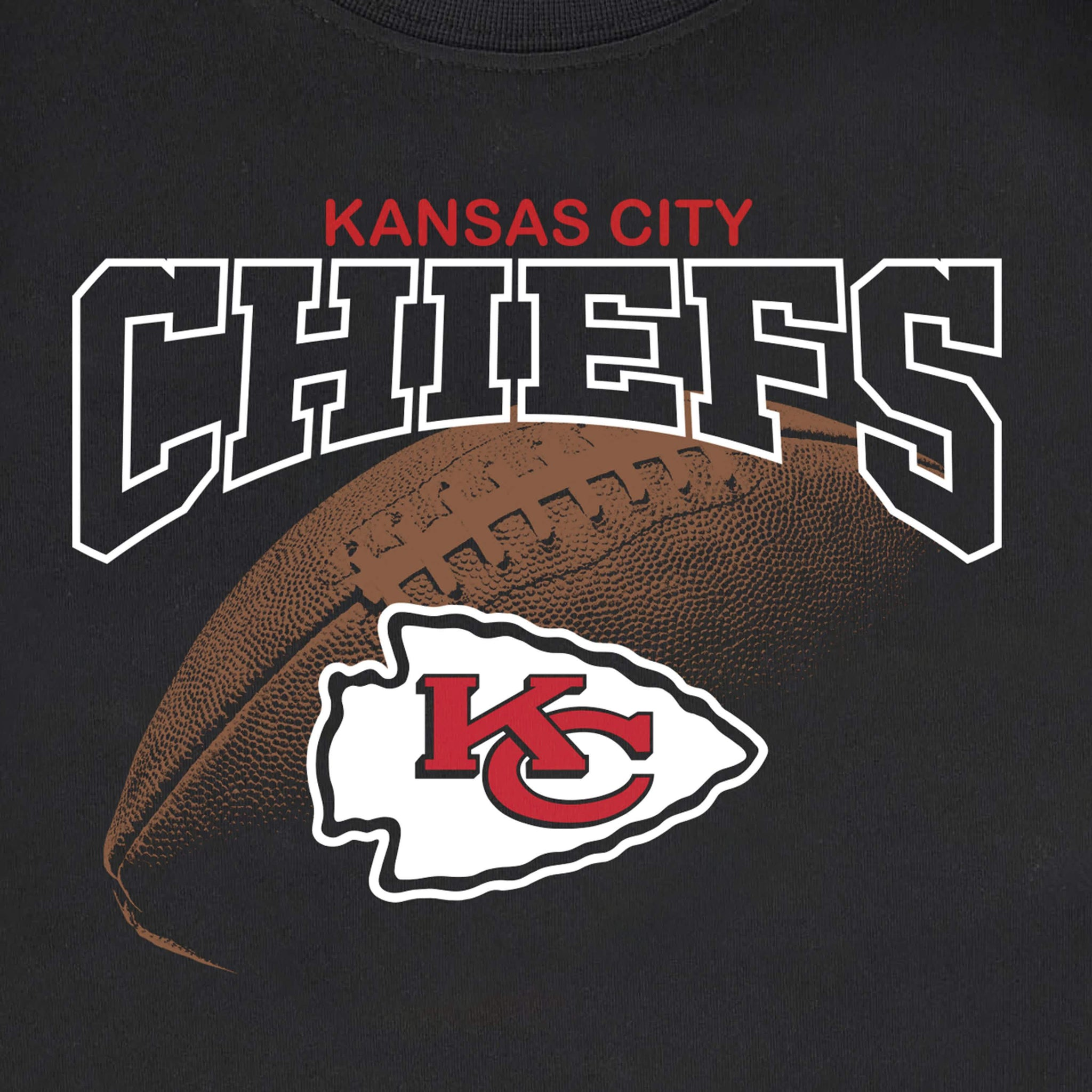 Kansas City Chiefs Boys Tee Shirt-Gerber Childrenswear