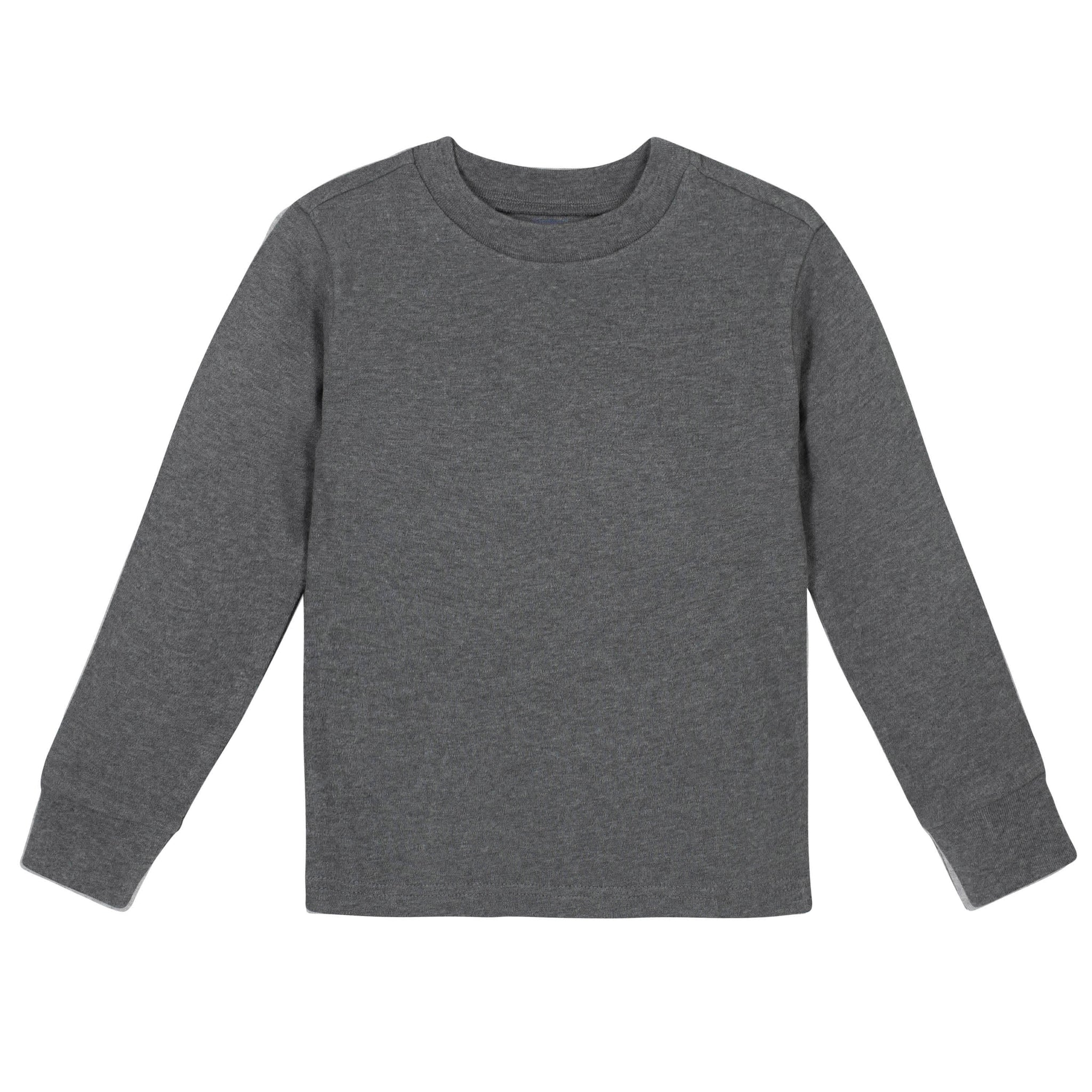 Gerber® Premium Gray Long Sleeve Tee Shirt - 10 Colors Available