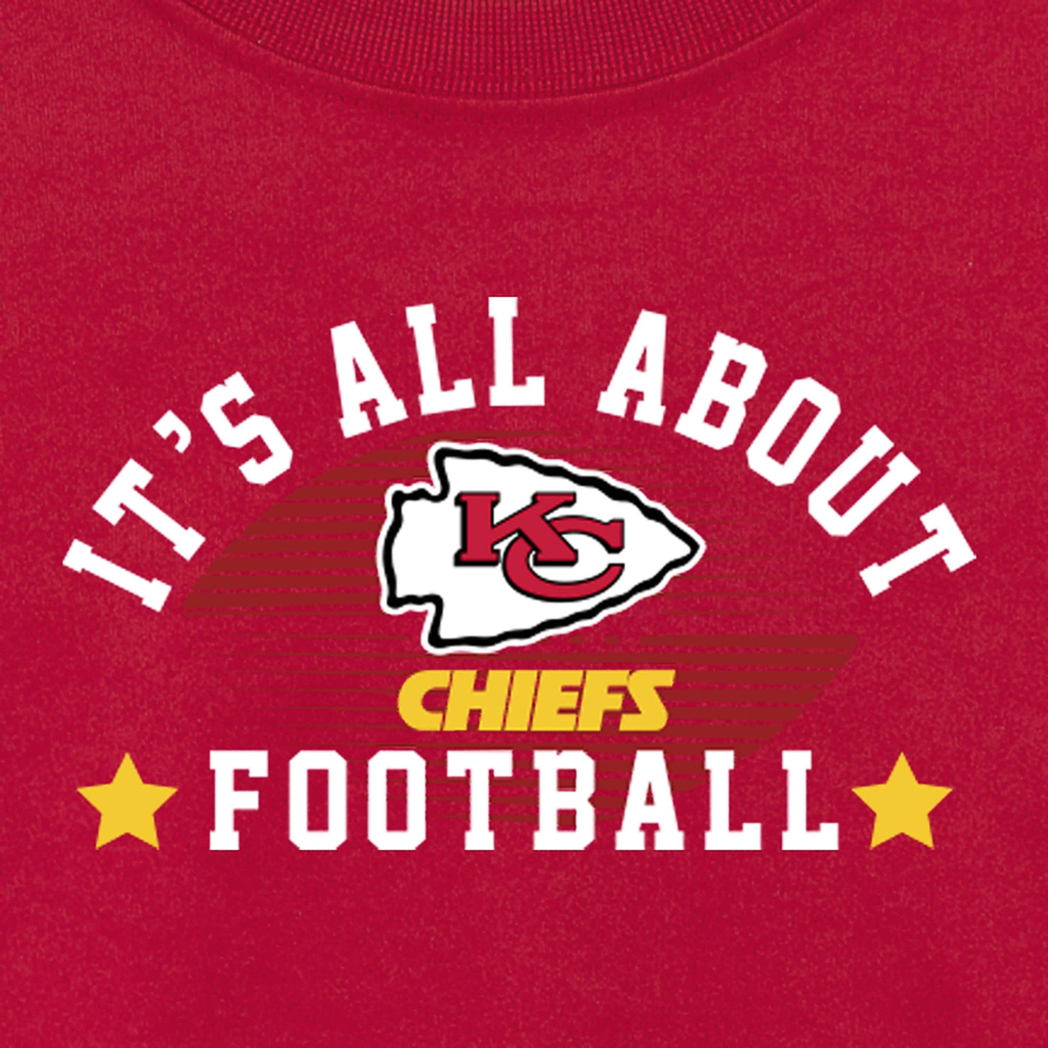 Kansas City Chiefs Baby and Toddler Boys Long Sleeve Tee Shirt-Gerber Childrenswear