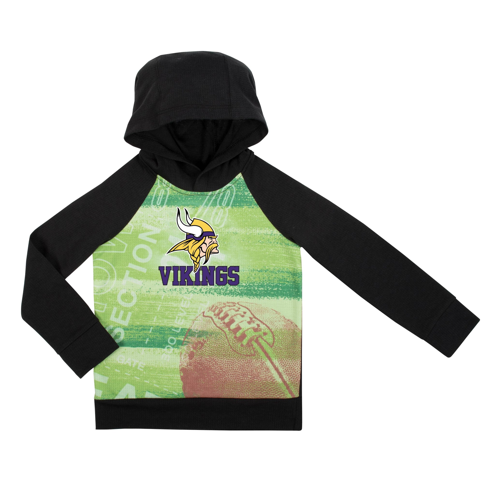 Minnesota Vikings Boys Pullover Hoodie-Gerber Childrenswear