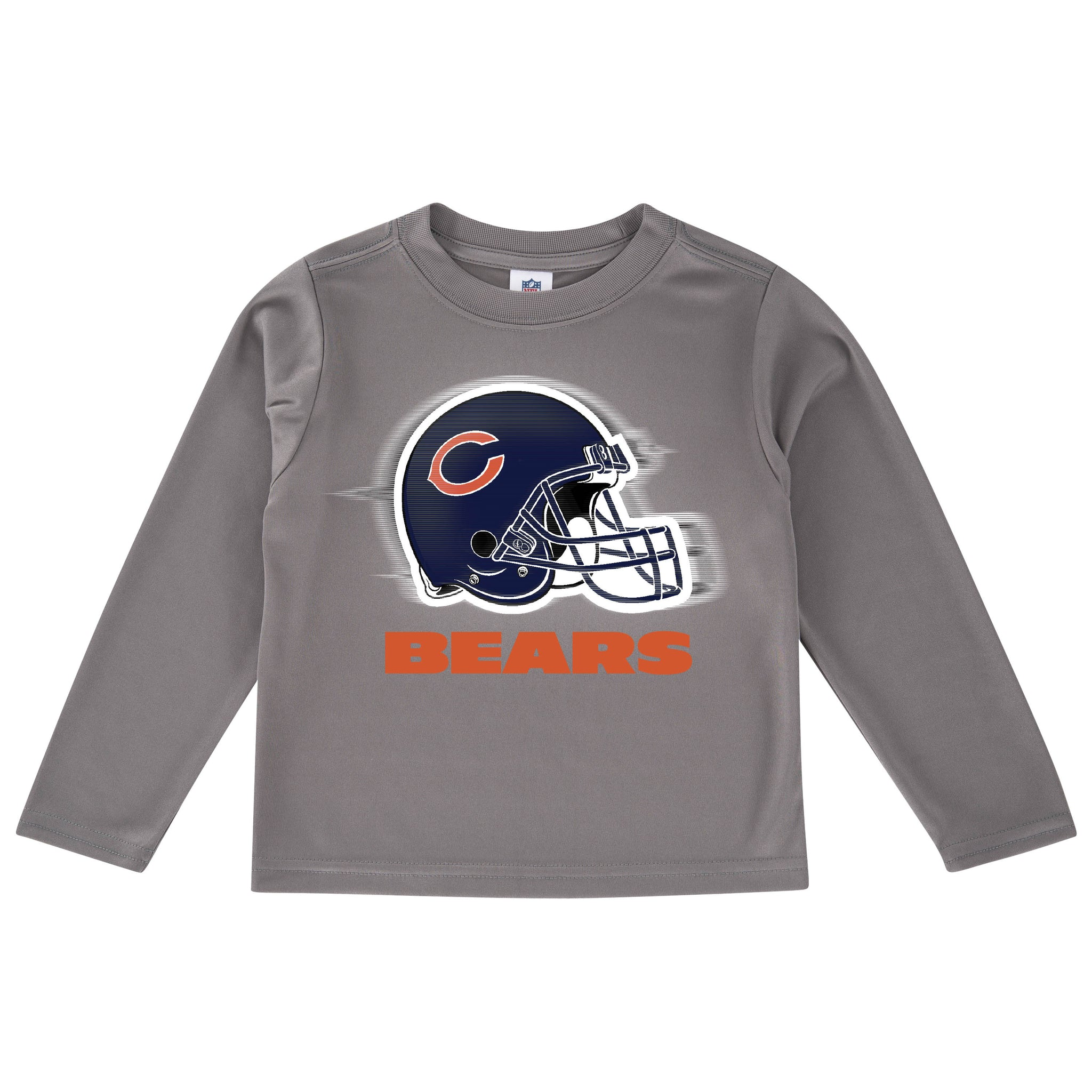 Chicago Bears Toddler Boys' Long Sleeve Logo Tee-Gerber Childrenswear
