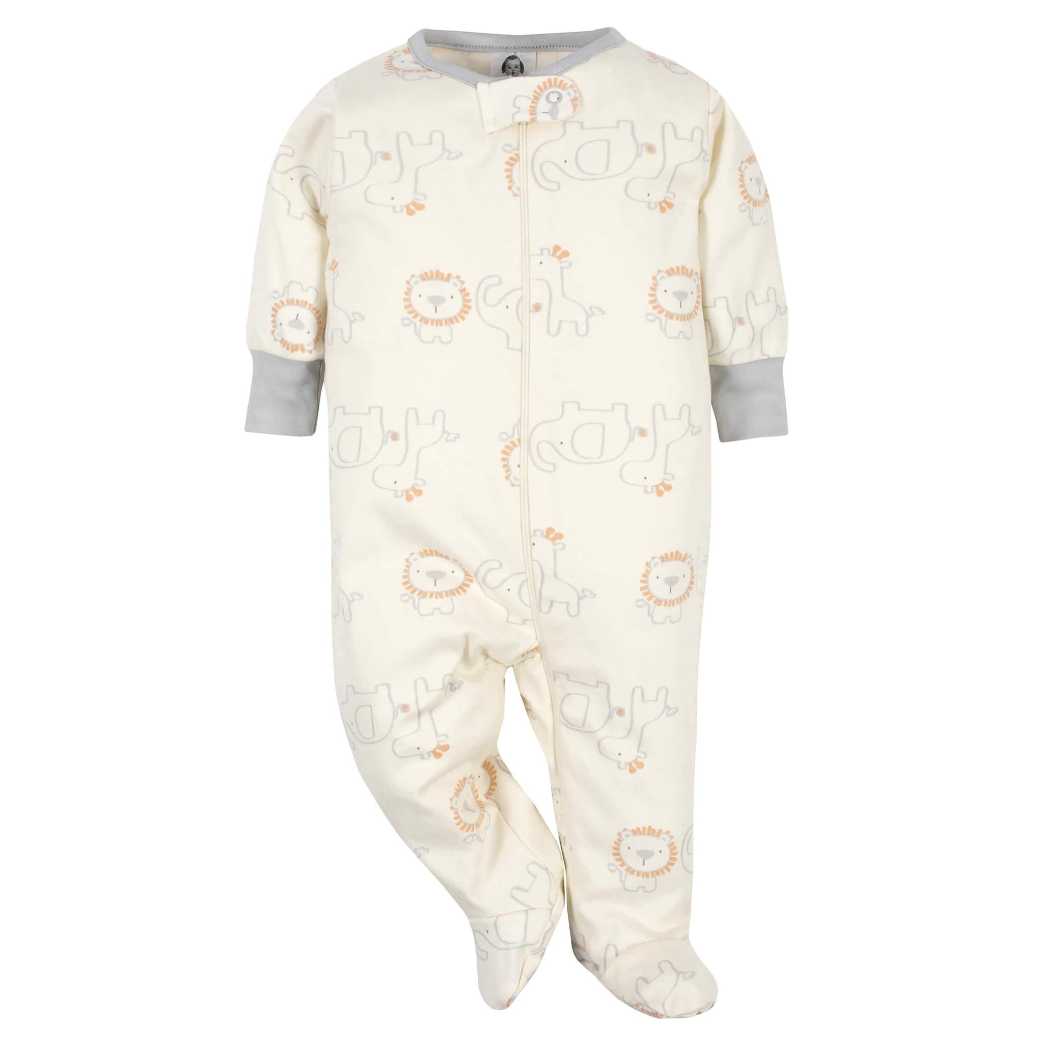 Gerber® Organic 2-Pack Baby Boys Safari Sleep 'N Plays