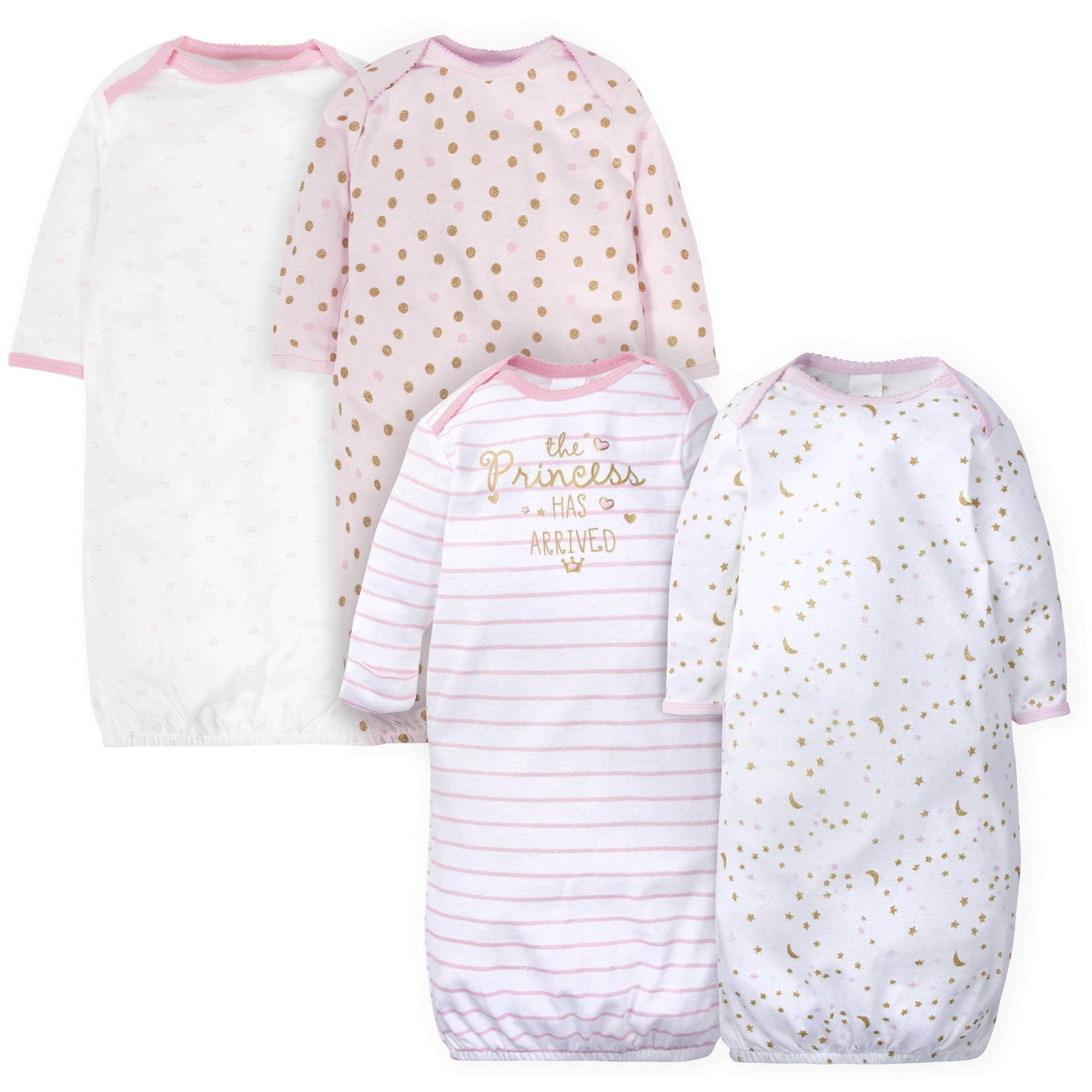Gerber Baby 4-Pack Gowns