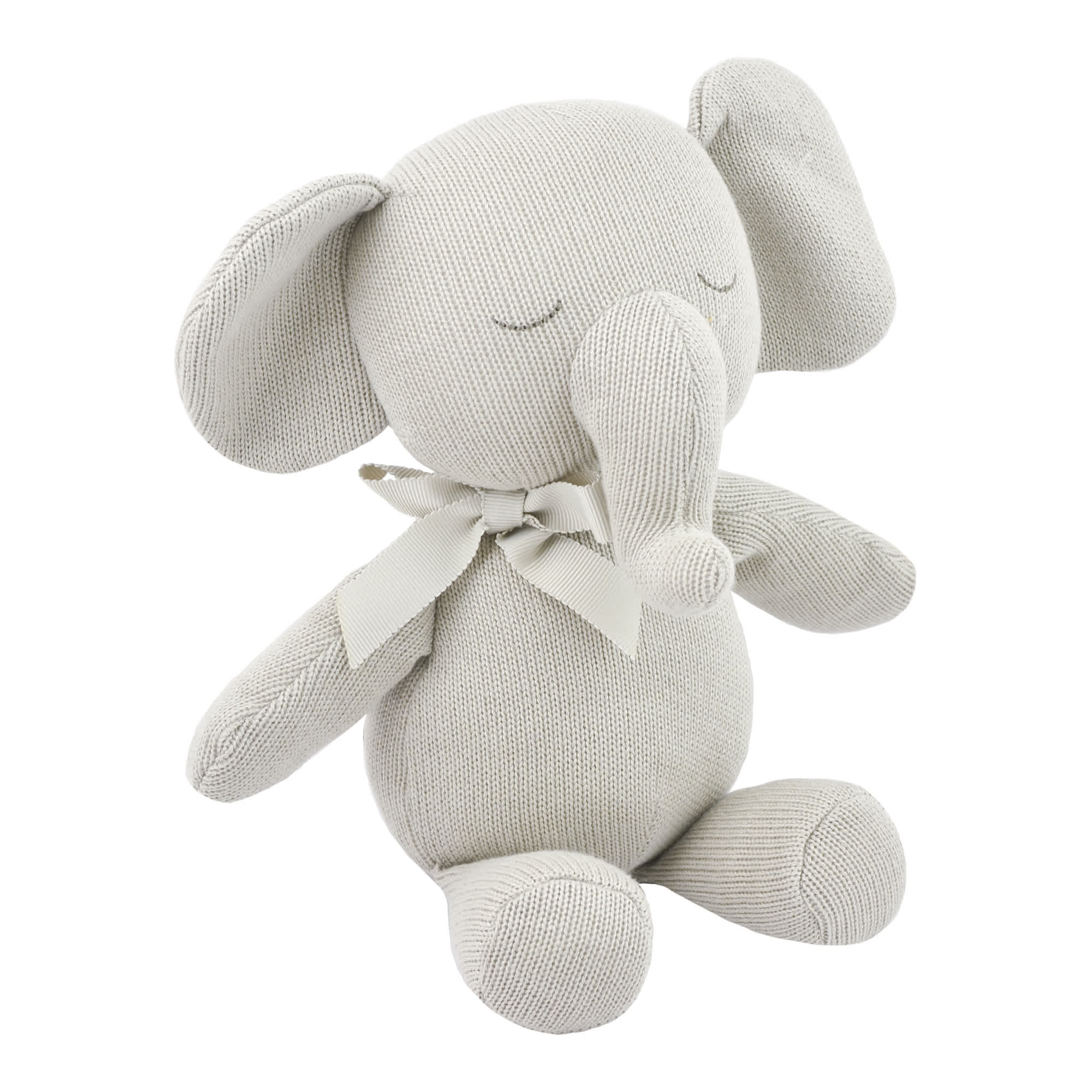 Just Born® Baby Neutral Elephant Plush Toy-Gerber Childrenswear