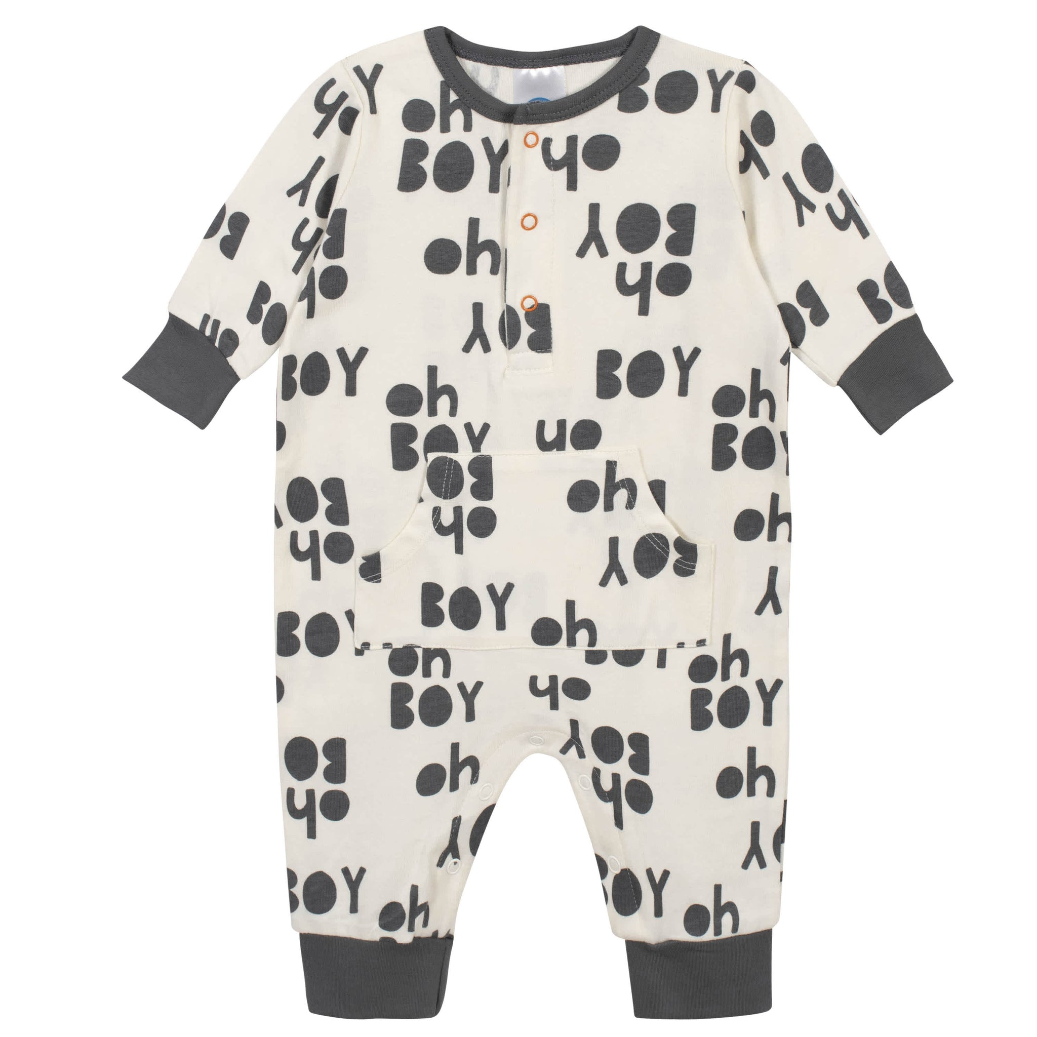 3-Piece Baby Boys Grow by Gerber® Bicycle Organic Coverall Set-Gerber Childrenswear