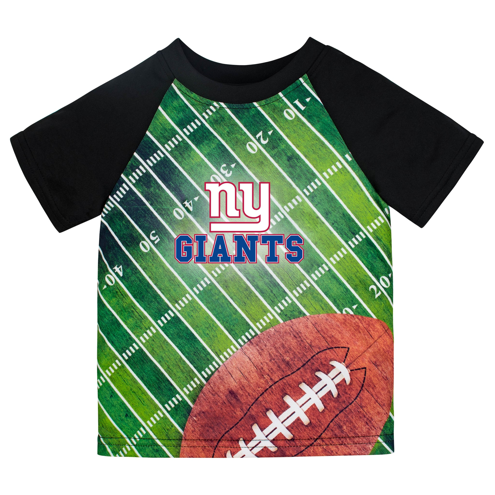 New York Giants Boys Short Sleeve Tee Shirt