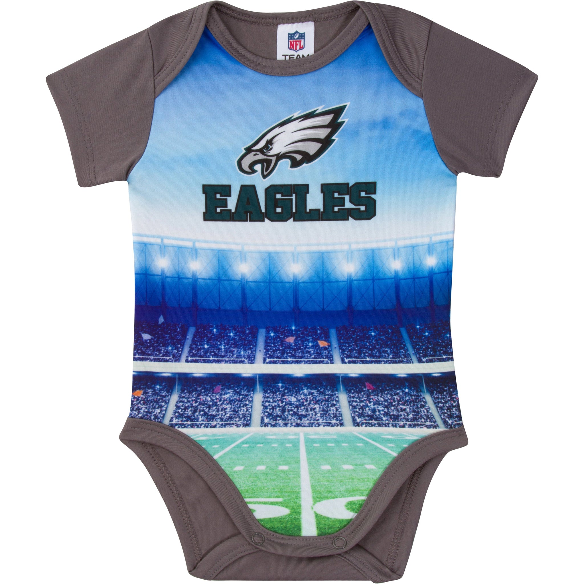 Philadelphia Eagles Baby Boy Short Sleeve Bodysuit-Gerber Childrenswear