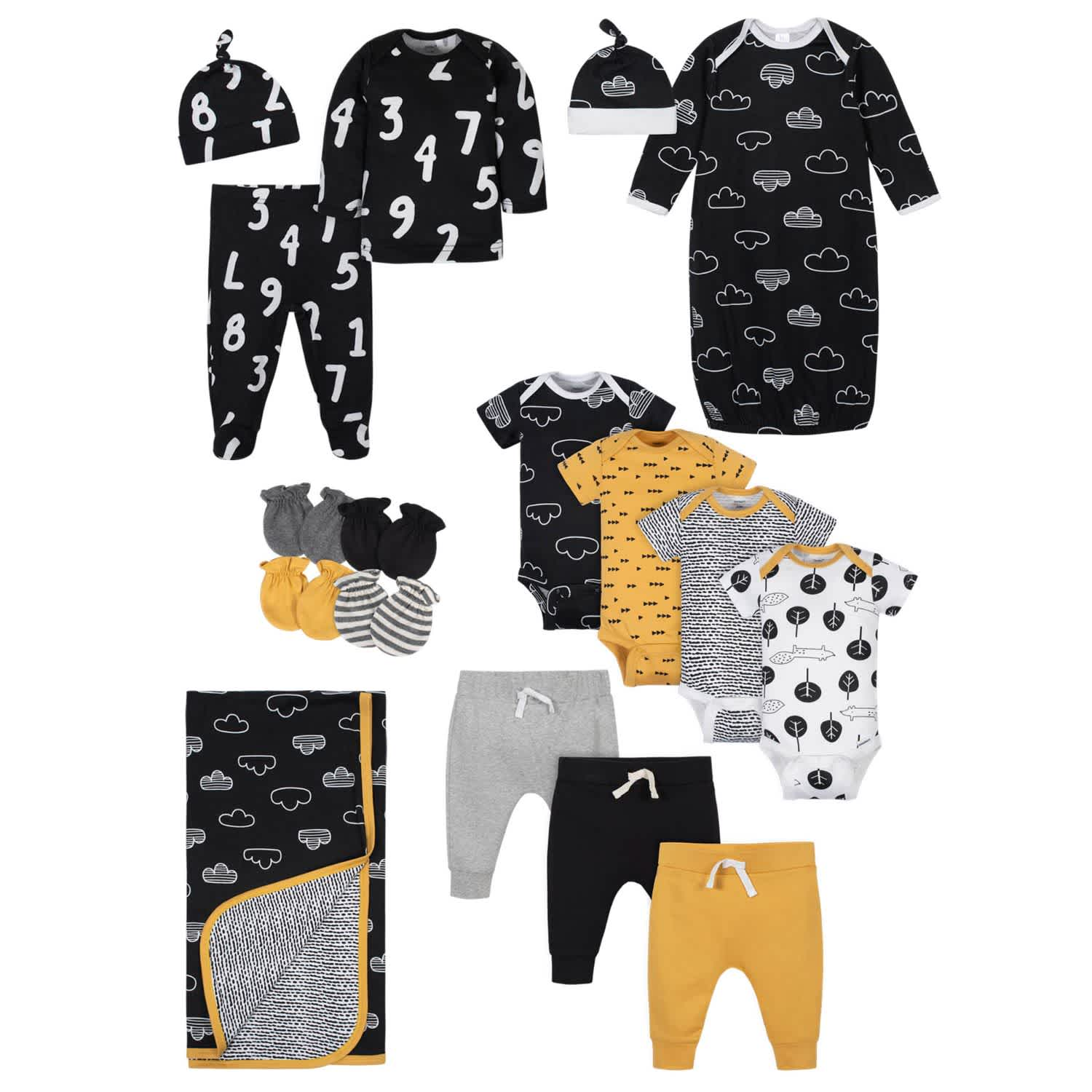 17-Piece Baby Boys' Nature Gift Set