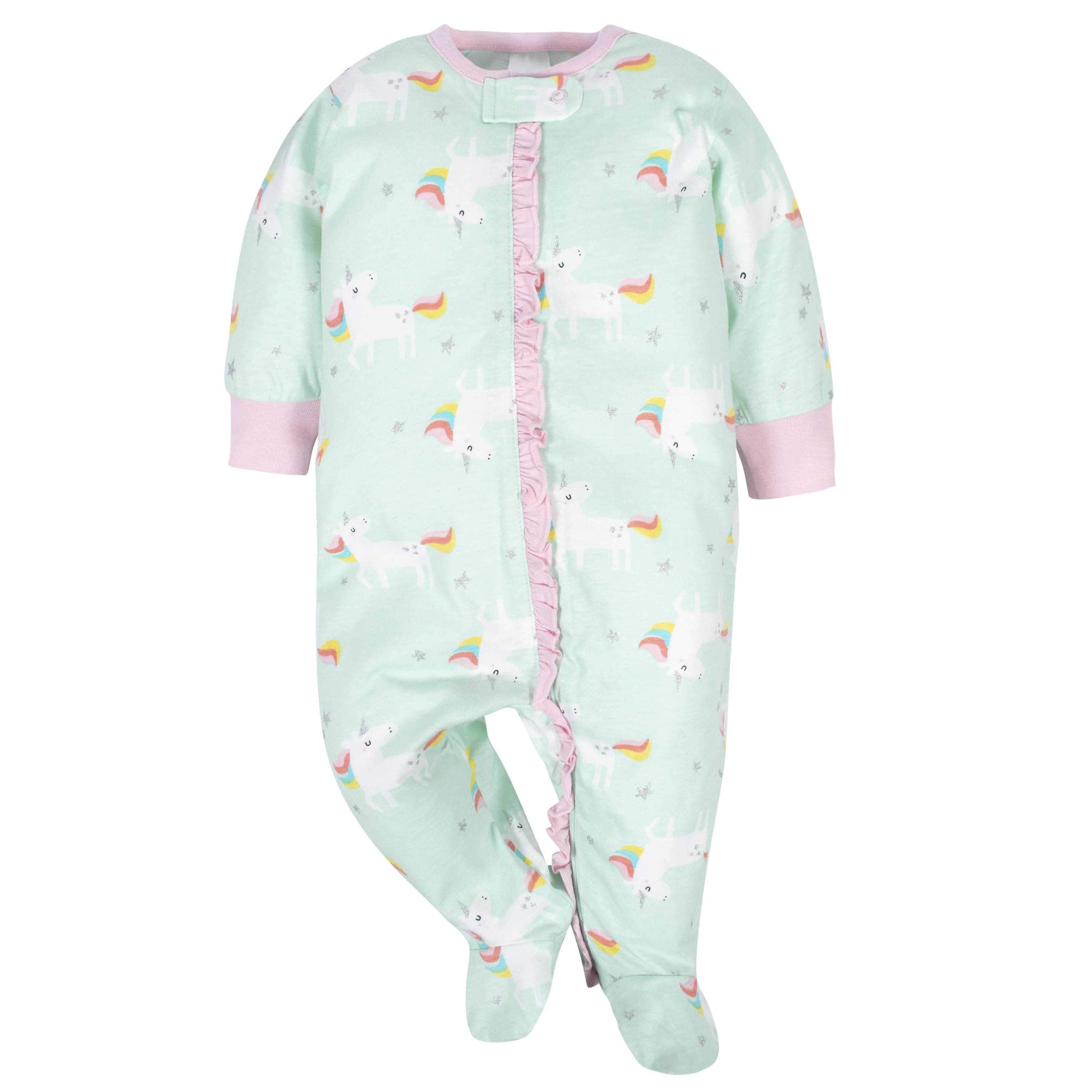 Gerber® Baby Girls Unicorn Sleep 'N Play-Gerber Childrenswear