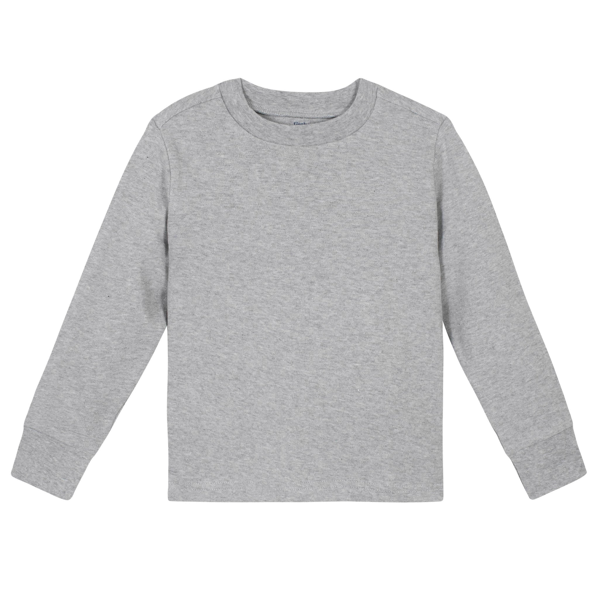 Gerber® Premium Light Gray Long Sleeve Tee Shirt - 10 Colors Available