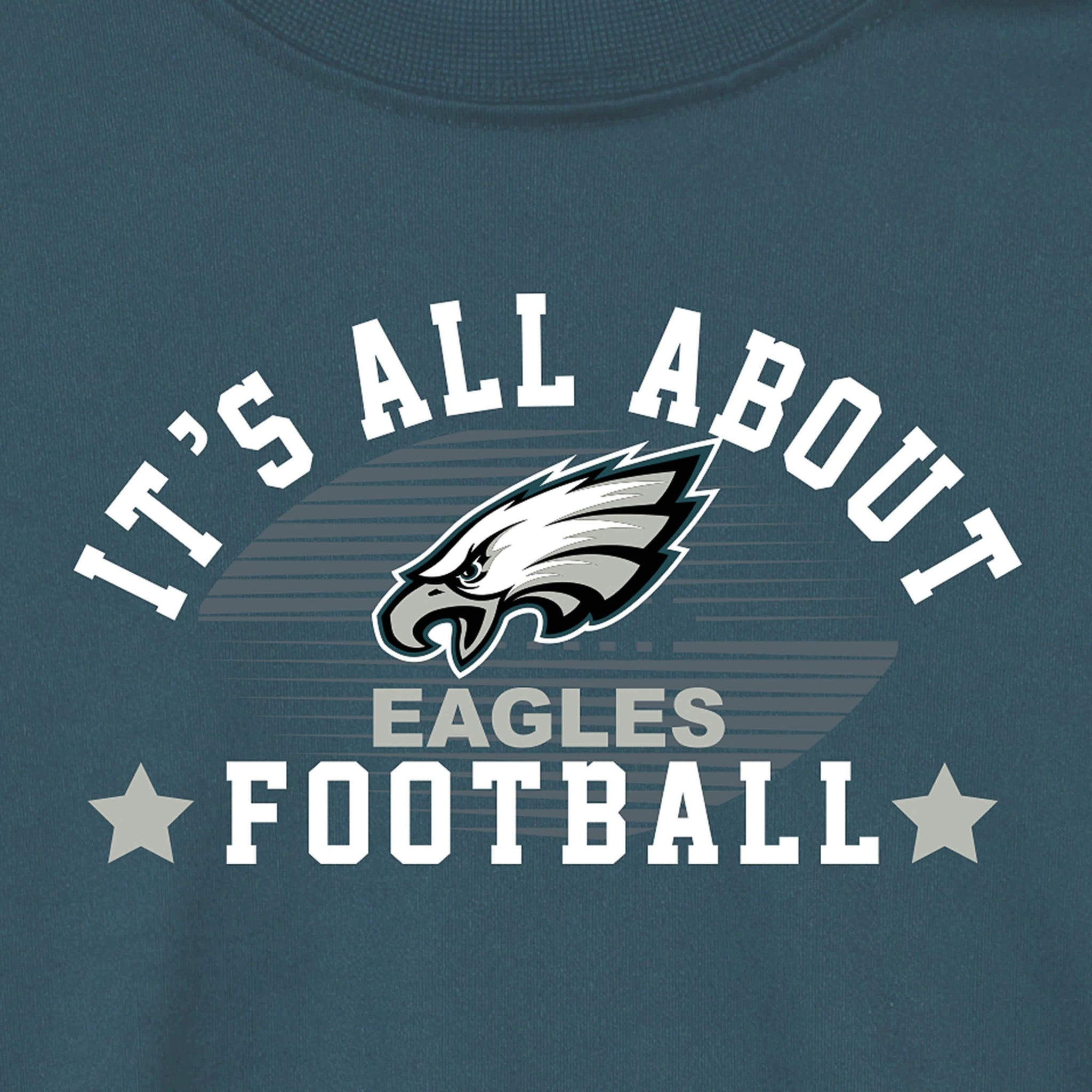 Philidelphia Eagles Baby and Toddler Boys Long Sleeve Tee Shirt-Gerber Childrenswear