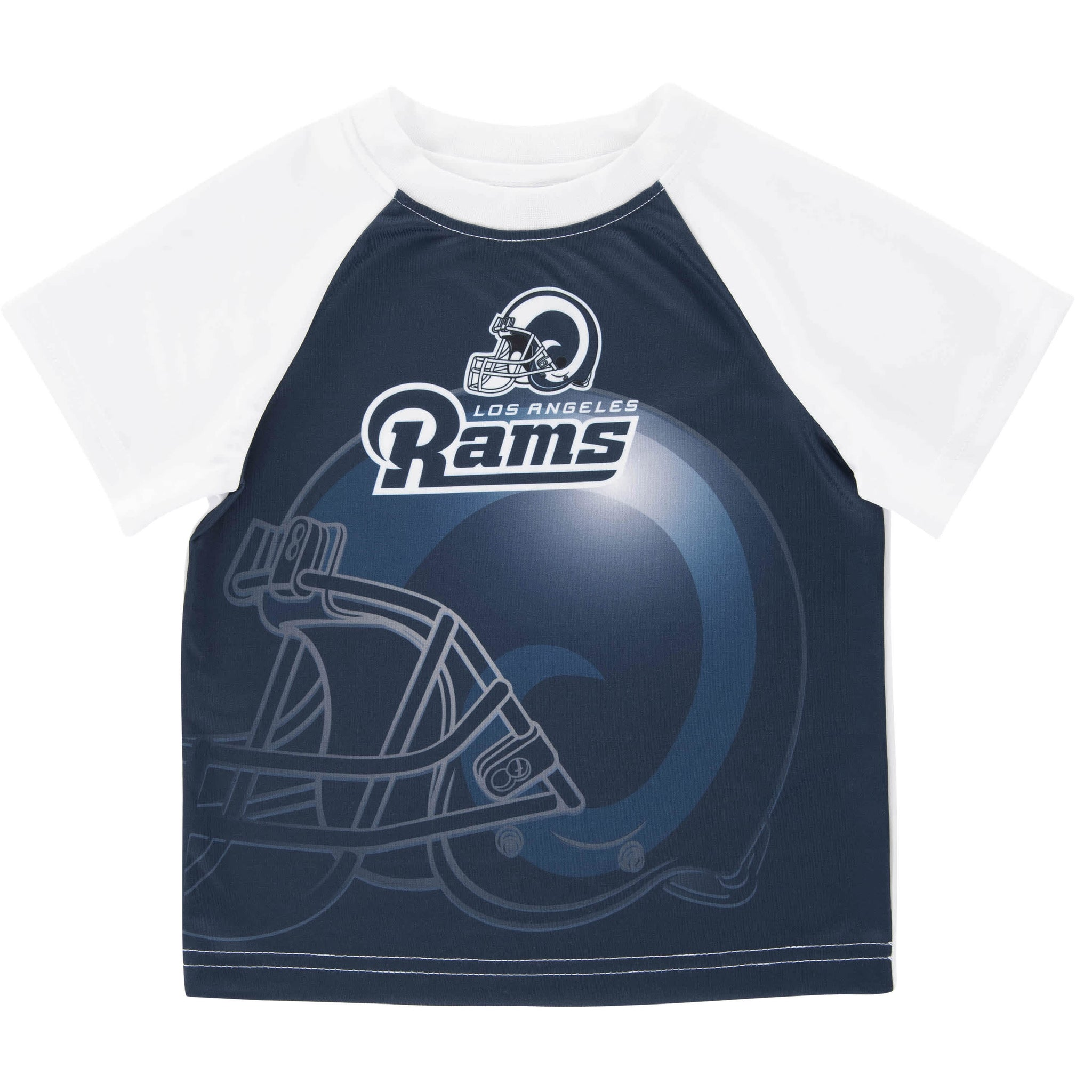 Los Angeles Rams Short Sleeve Logo Tee Shirt-Gerber Childrenswear