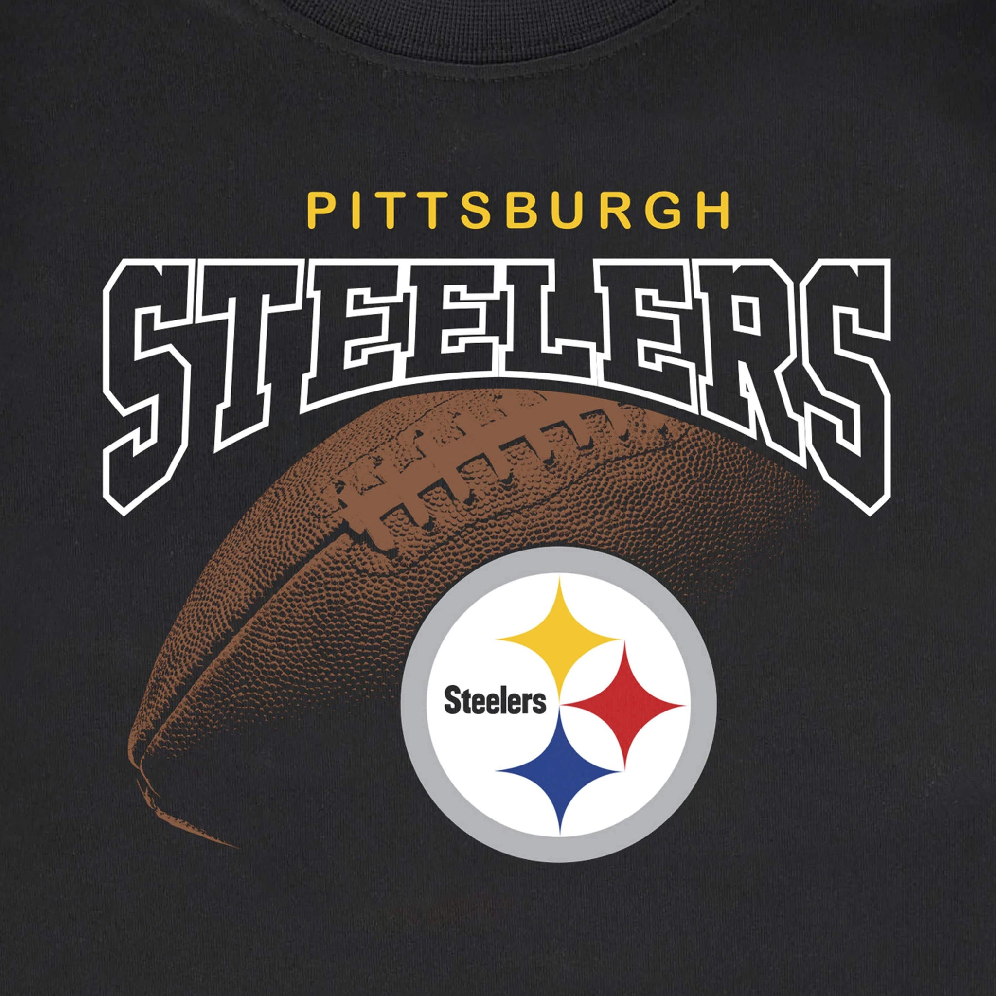 Pittsburgh Steelers Boys Tee Shirt-Gerber Childrenswear