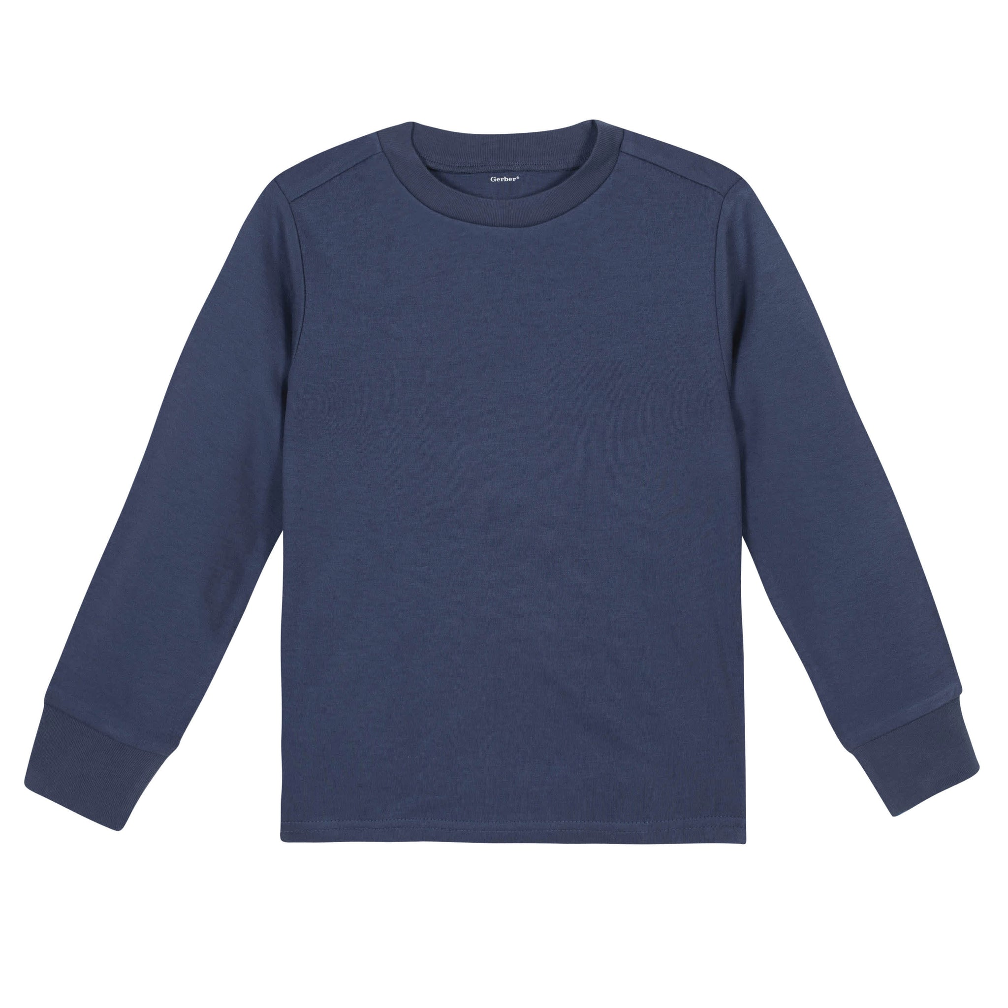 Gerber® Premium Navy Long Sleeve Tee Shirt - 10 Colors Available