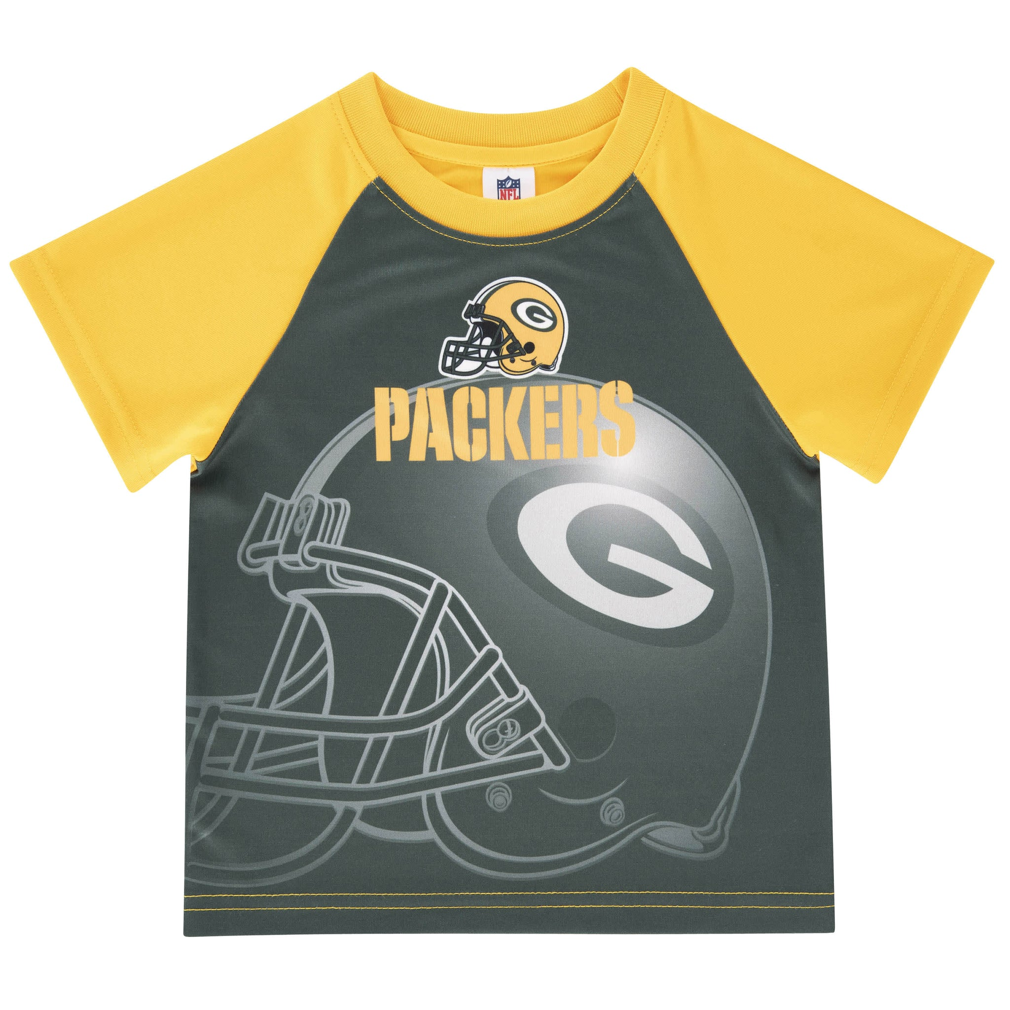 NFL Packers Short Sleeve Tee Shirt-Gerber Childrenswear