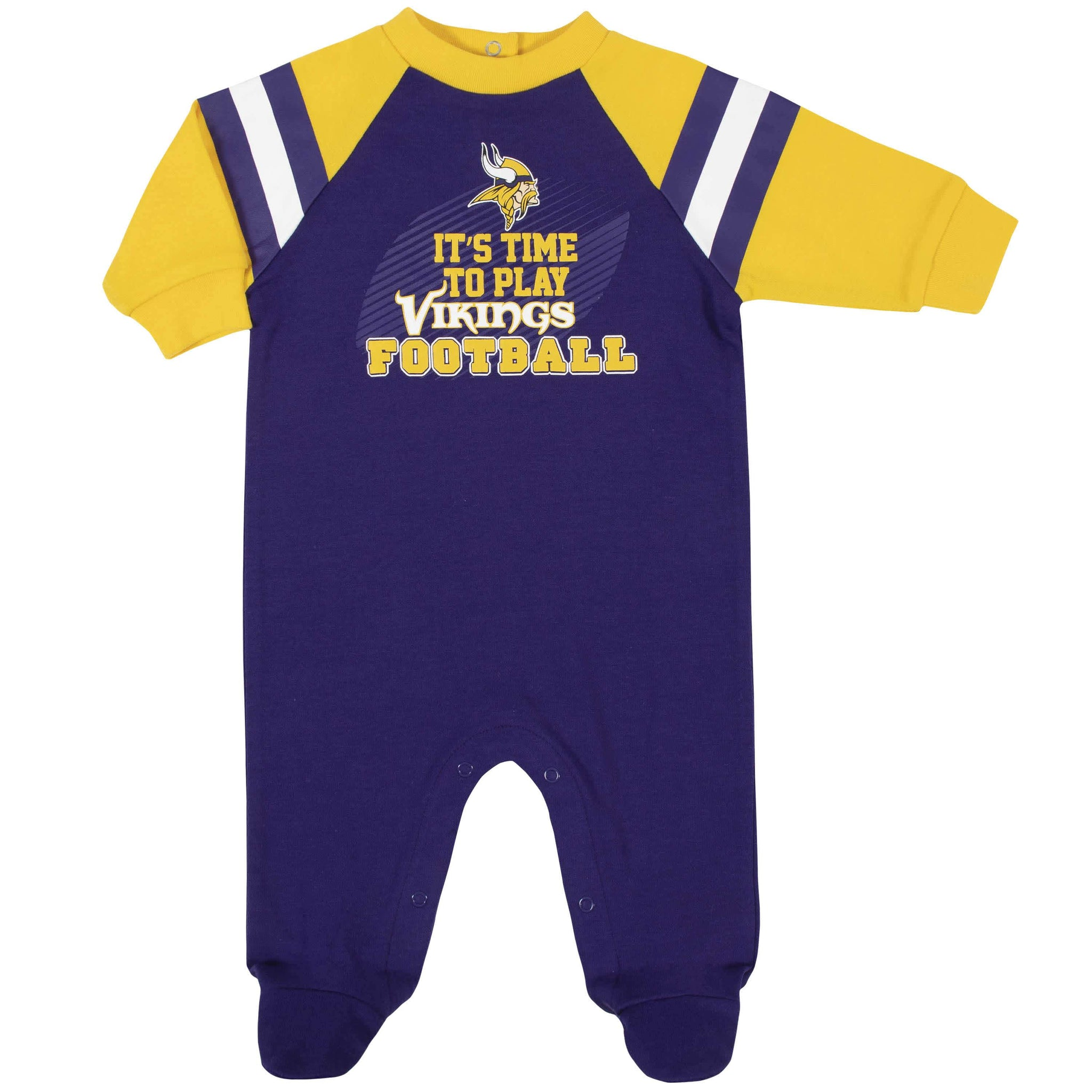 Minnesota Vikings Baby Boys Sleep 'N Play-Gerber Childrenswear
