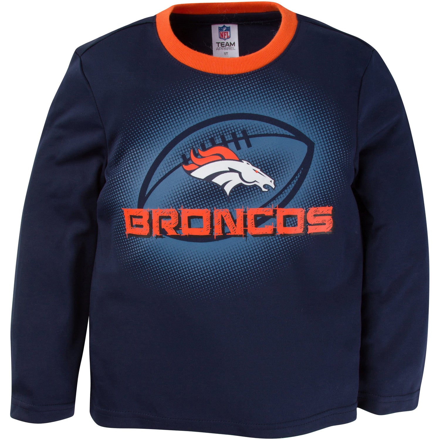 Denver Broncos Toddler Boys Long Sleeve