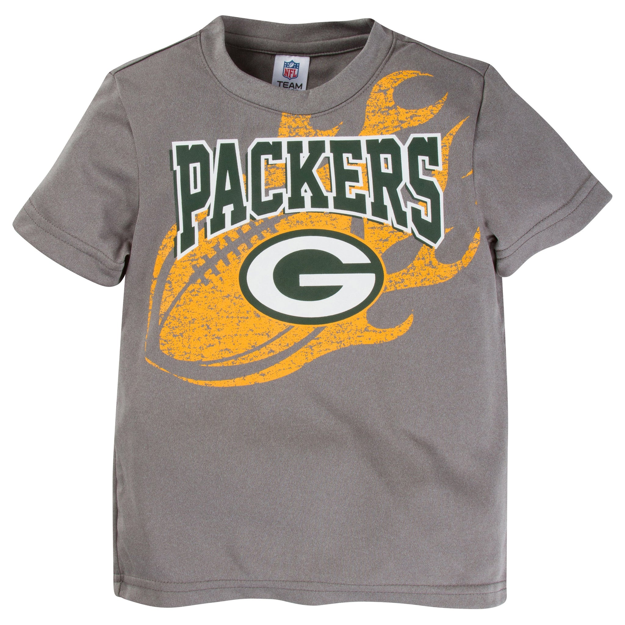 NFL Green Bay Packers Toddler Boys Short Sleeve Performance Tee Shirt